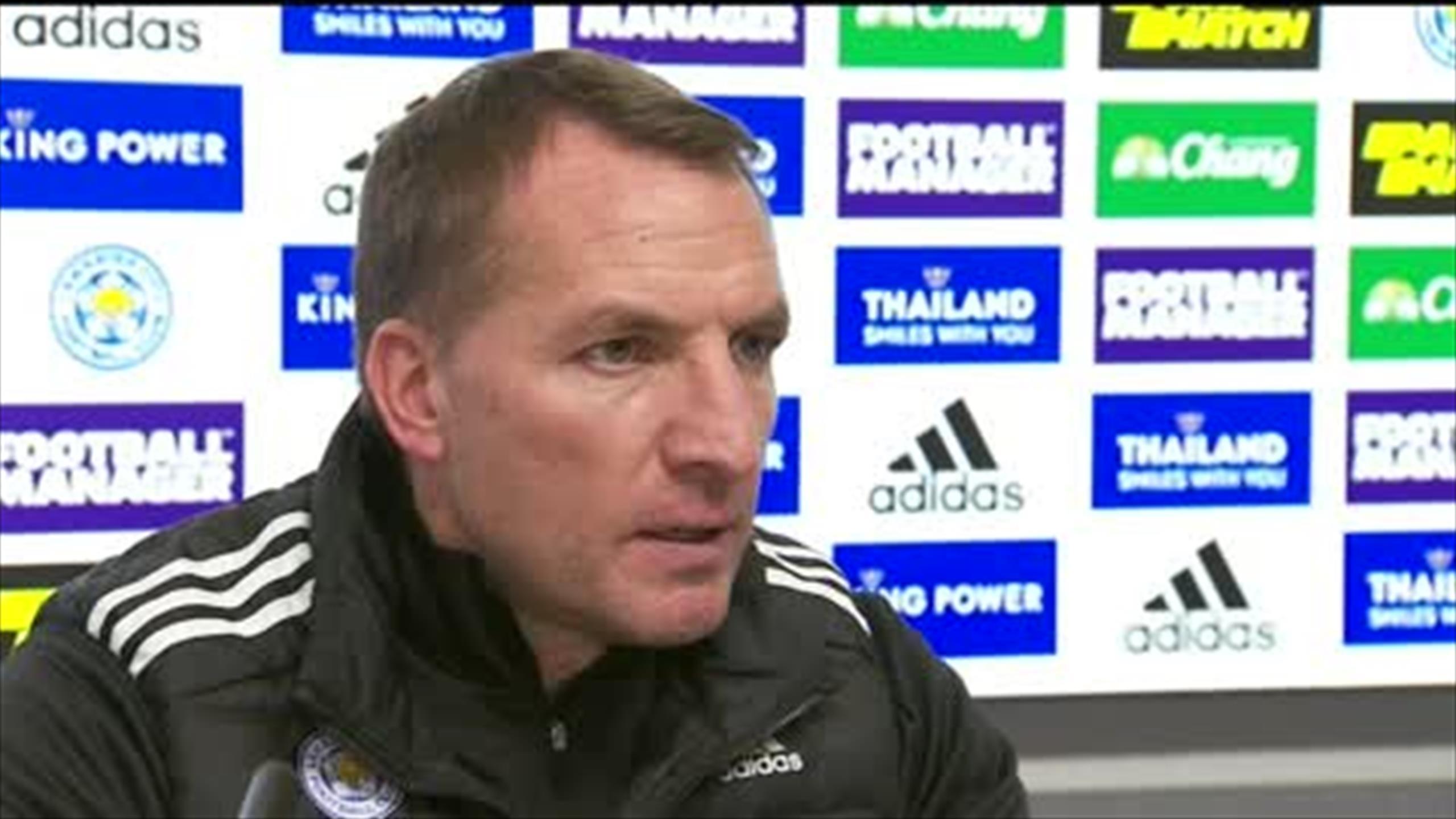 Premier League: Brendan Rodgers admits Leicester City have ...