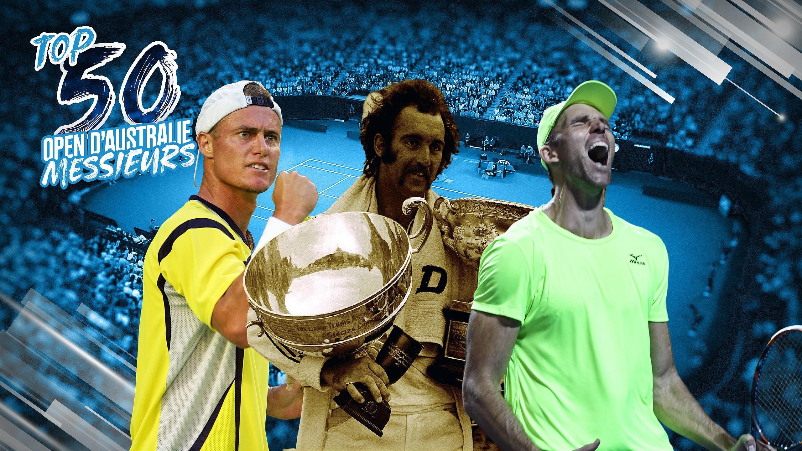 Crachat, guerre des moustaches, 84 jeux : Le Top 50 des matches de l&#39;Open d&#39;<b>Australie</b> (40-31)