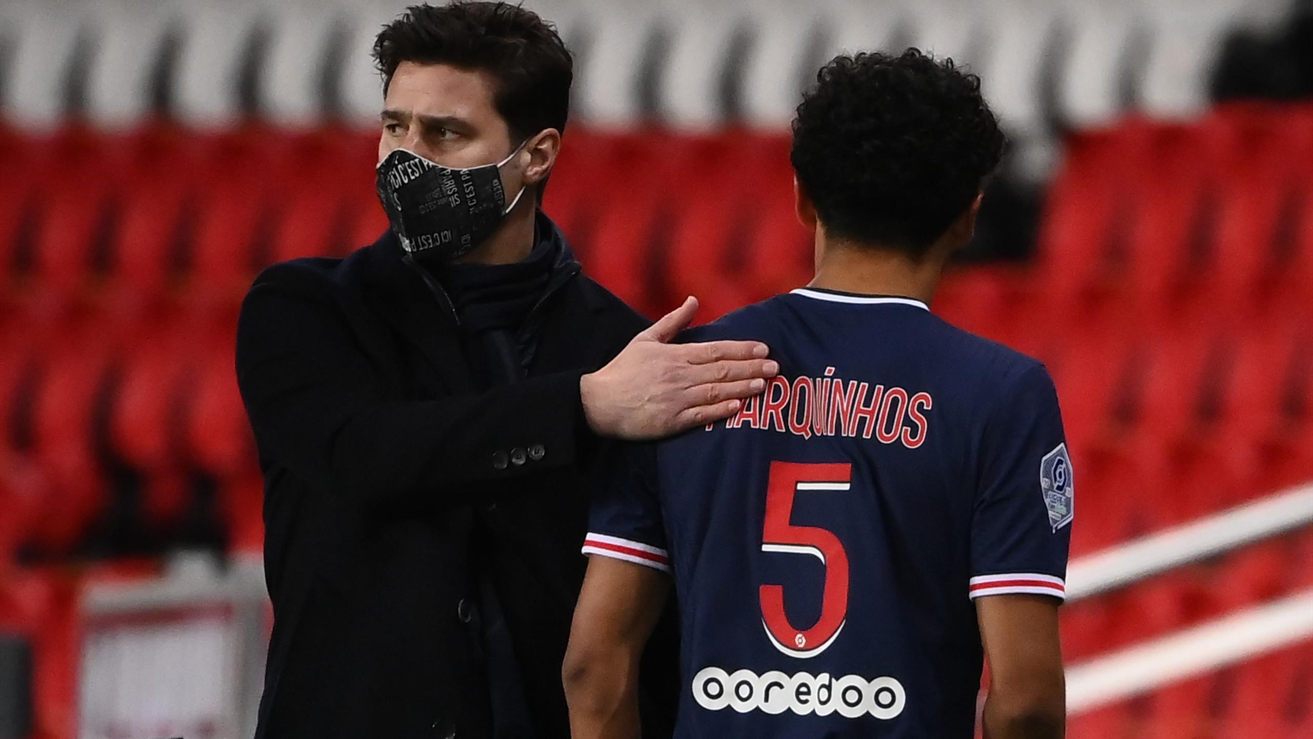 """""""Pas trop grave"""" : Pochettino rassurant après les sorties sur blessure de Marquinhos et Navas"""