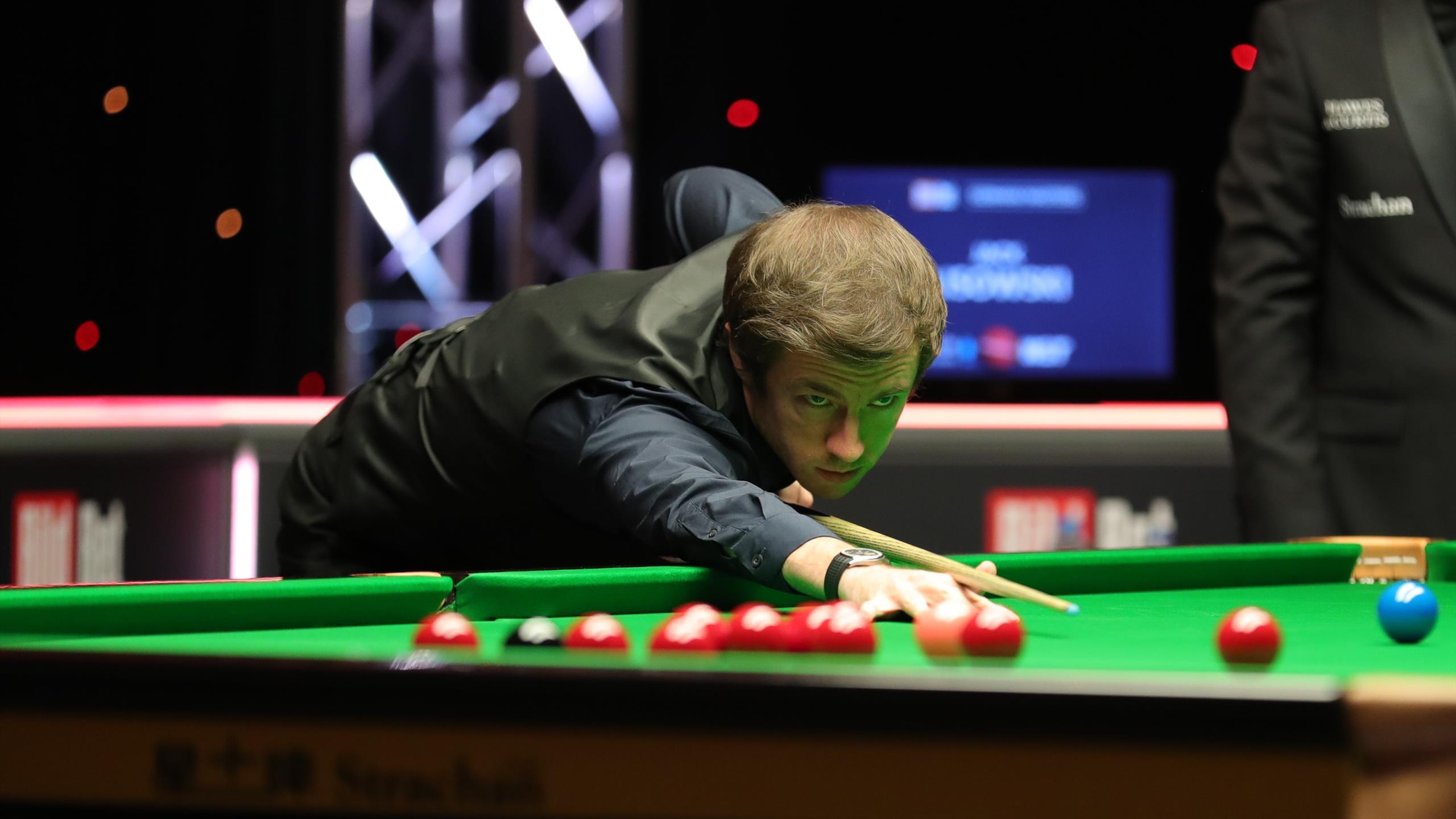 German Masters Snooker 2021 Live Quarter Final Day Judd Trump Beats Ding Lisowski Downs Bingham Eurosport