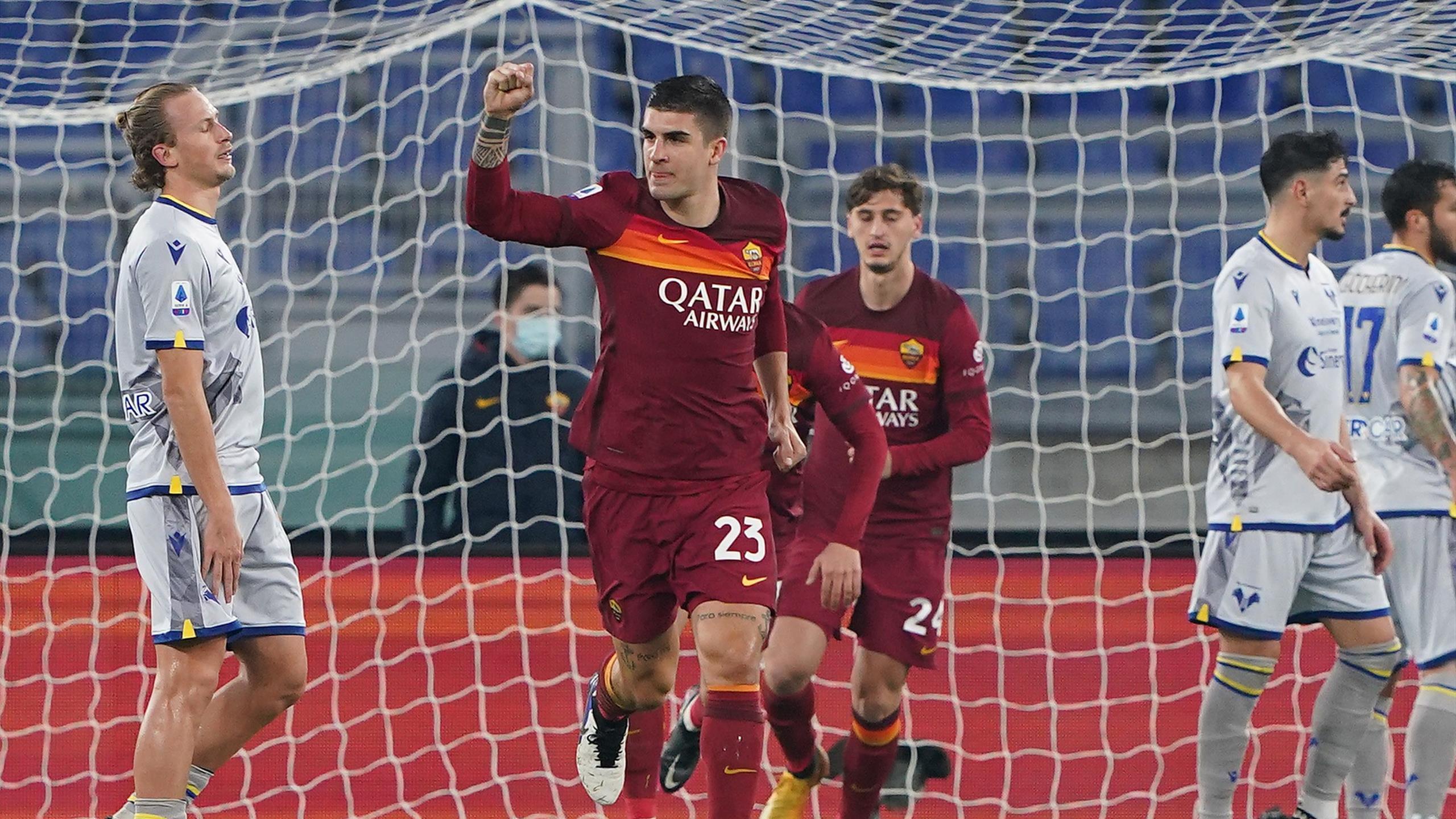 Roma-Verona 3-1, le pagelle: Mancini annulla Zaccagni ...