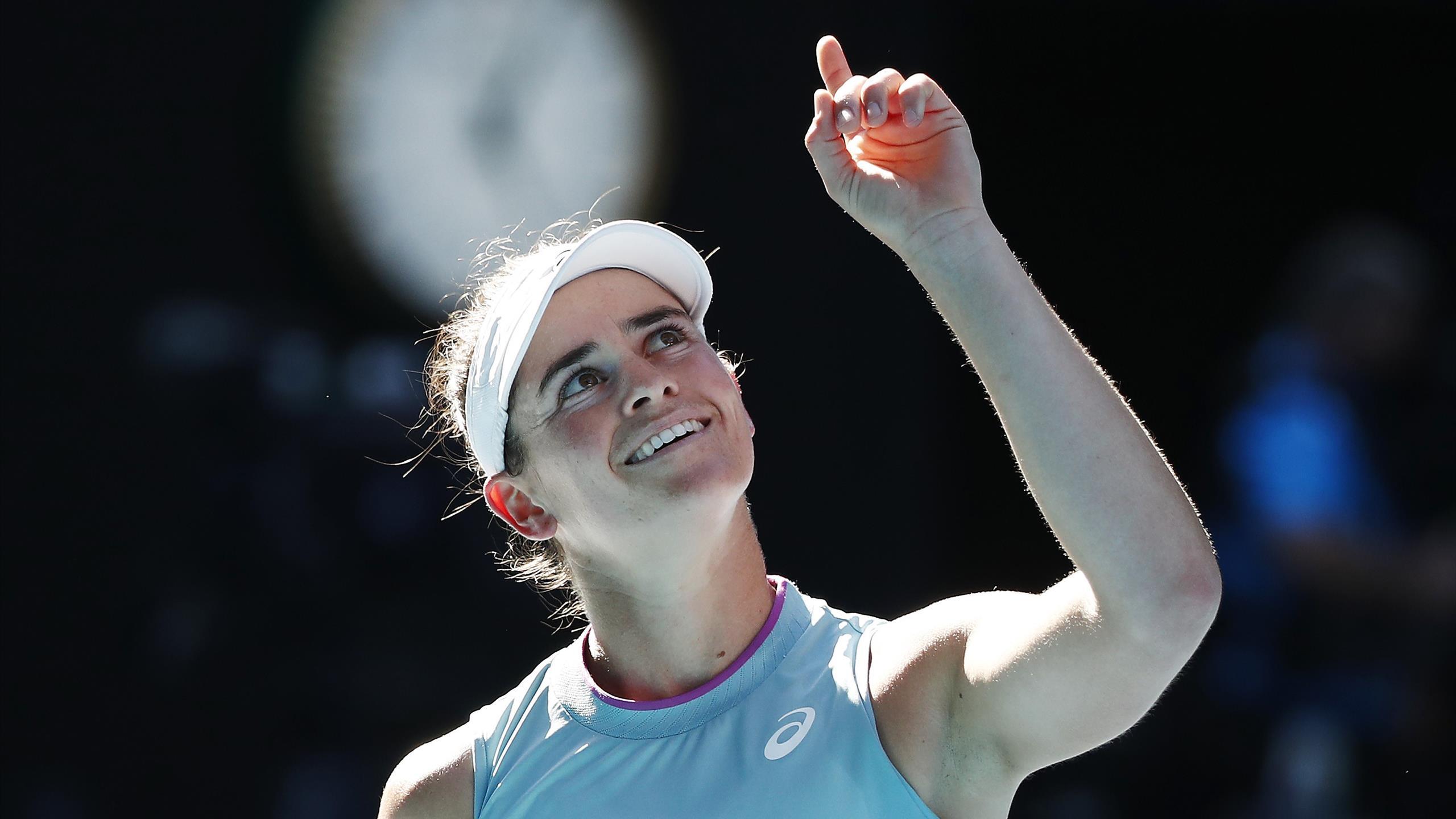 Australian Open: Brady schlägt Muchova im Halbfinale und feiert größten Karriere-Erfolg - Eurosport DE