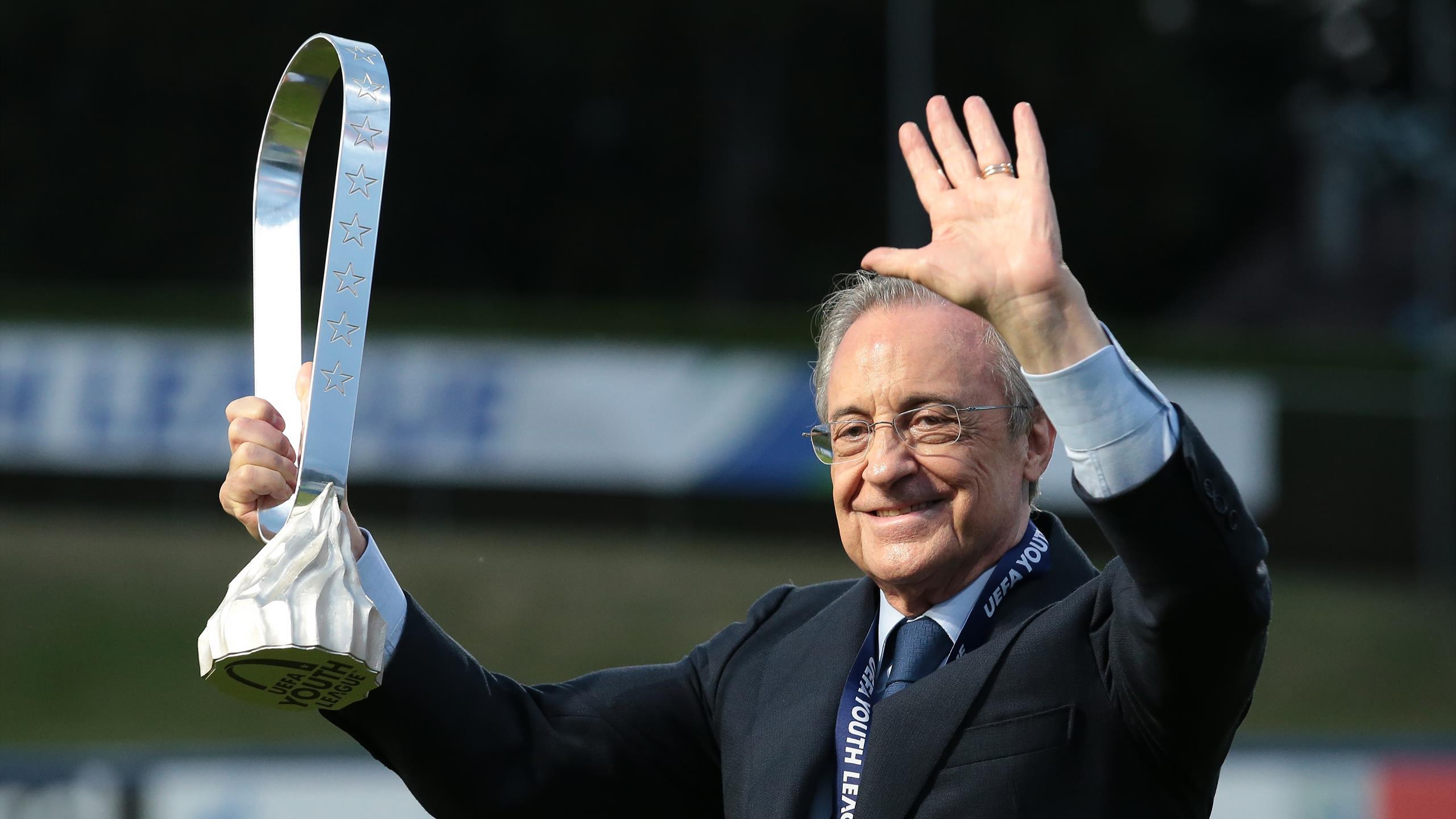 Florentino Pérez réélu à la tête du Real Madrid jusqu'en 2025