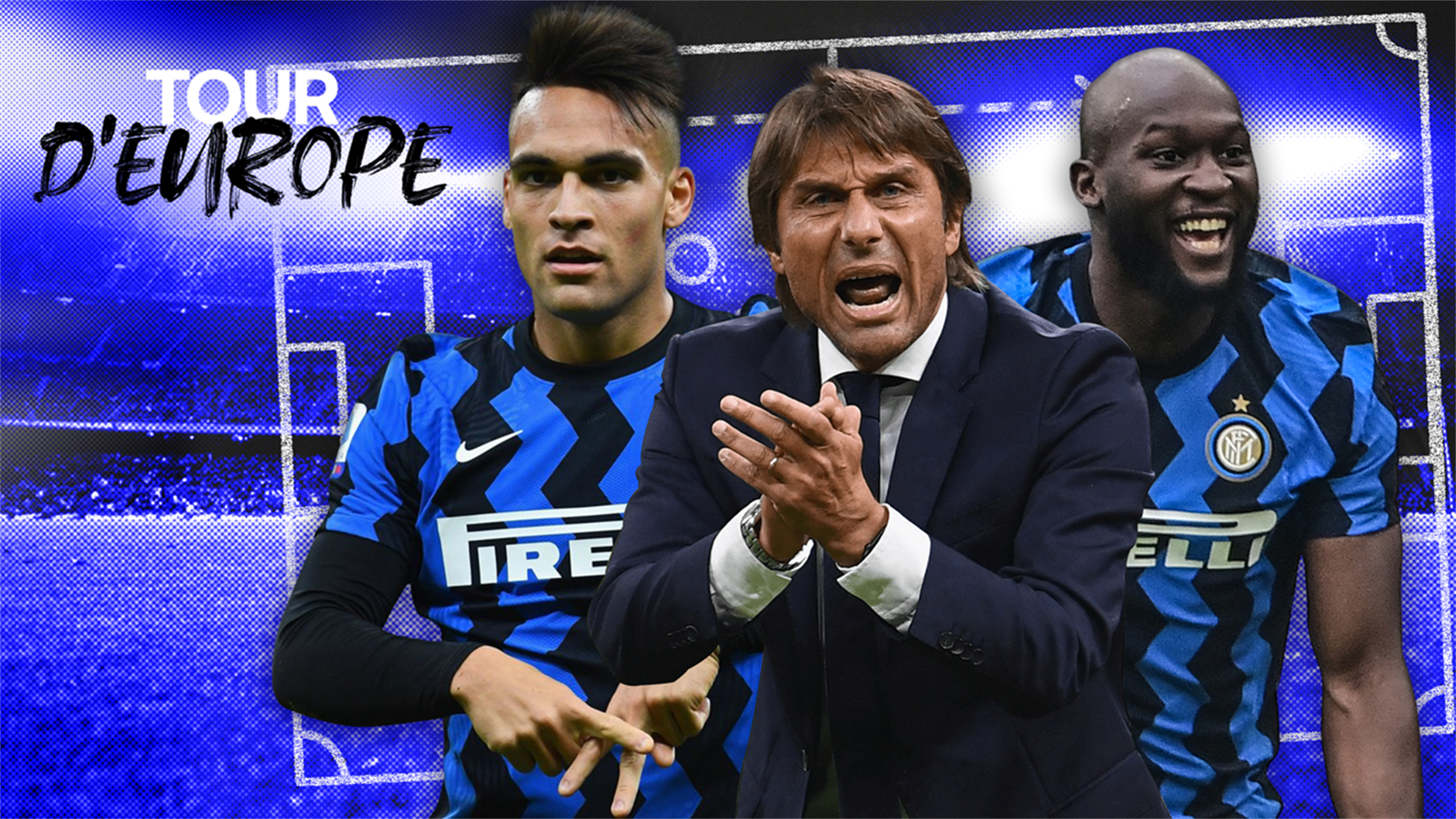 Inter Milan - Comment Antonio Conte a mis en orbite son duo Lukaku-Lautaro vers le titre - Eurosport FR