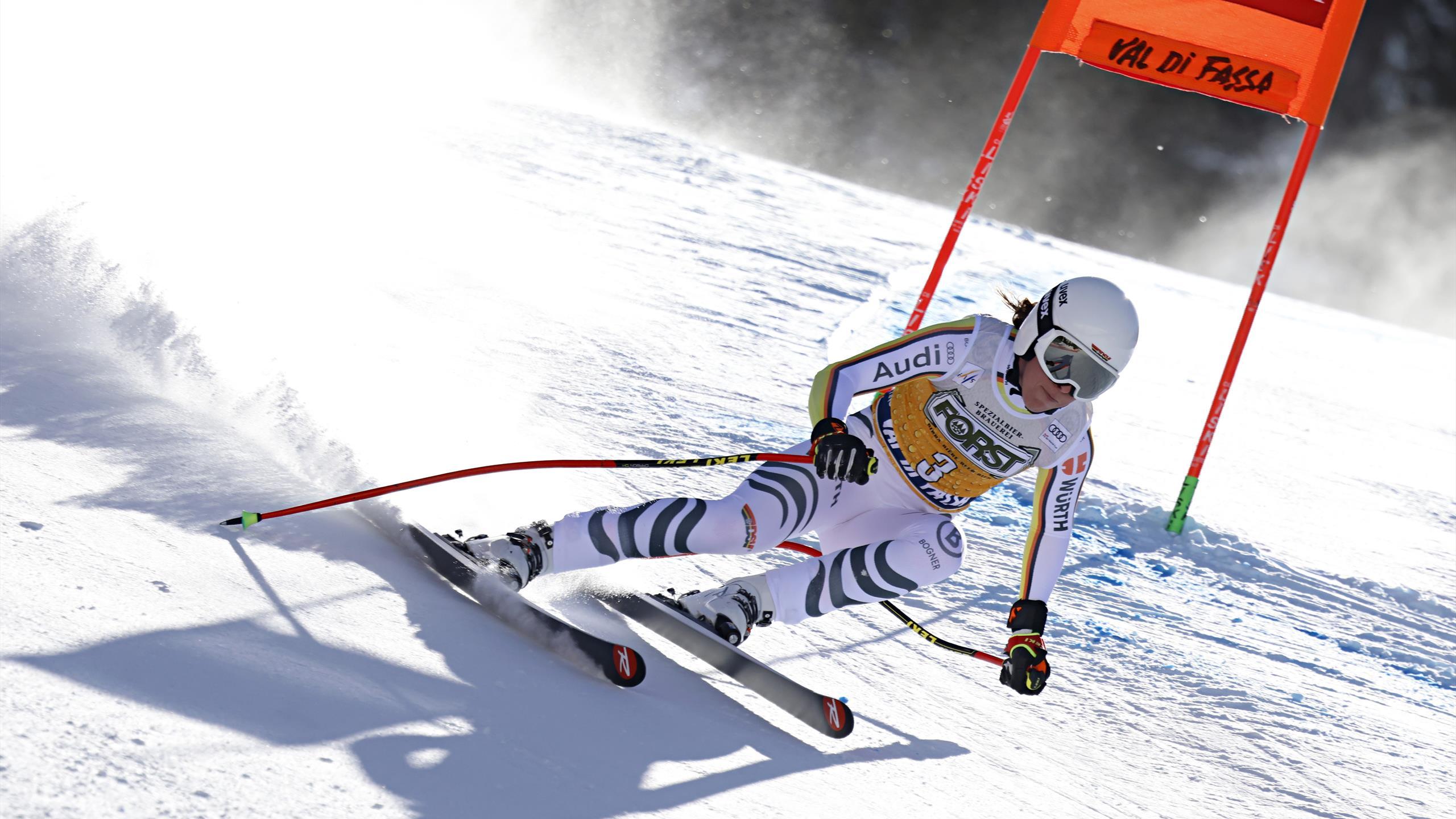 Abfahrt in Val di Fassa: Weidle starke Vierte, Gut-Behrami siegt und übernimmt Gesamtführung - Eurosport DE
