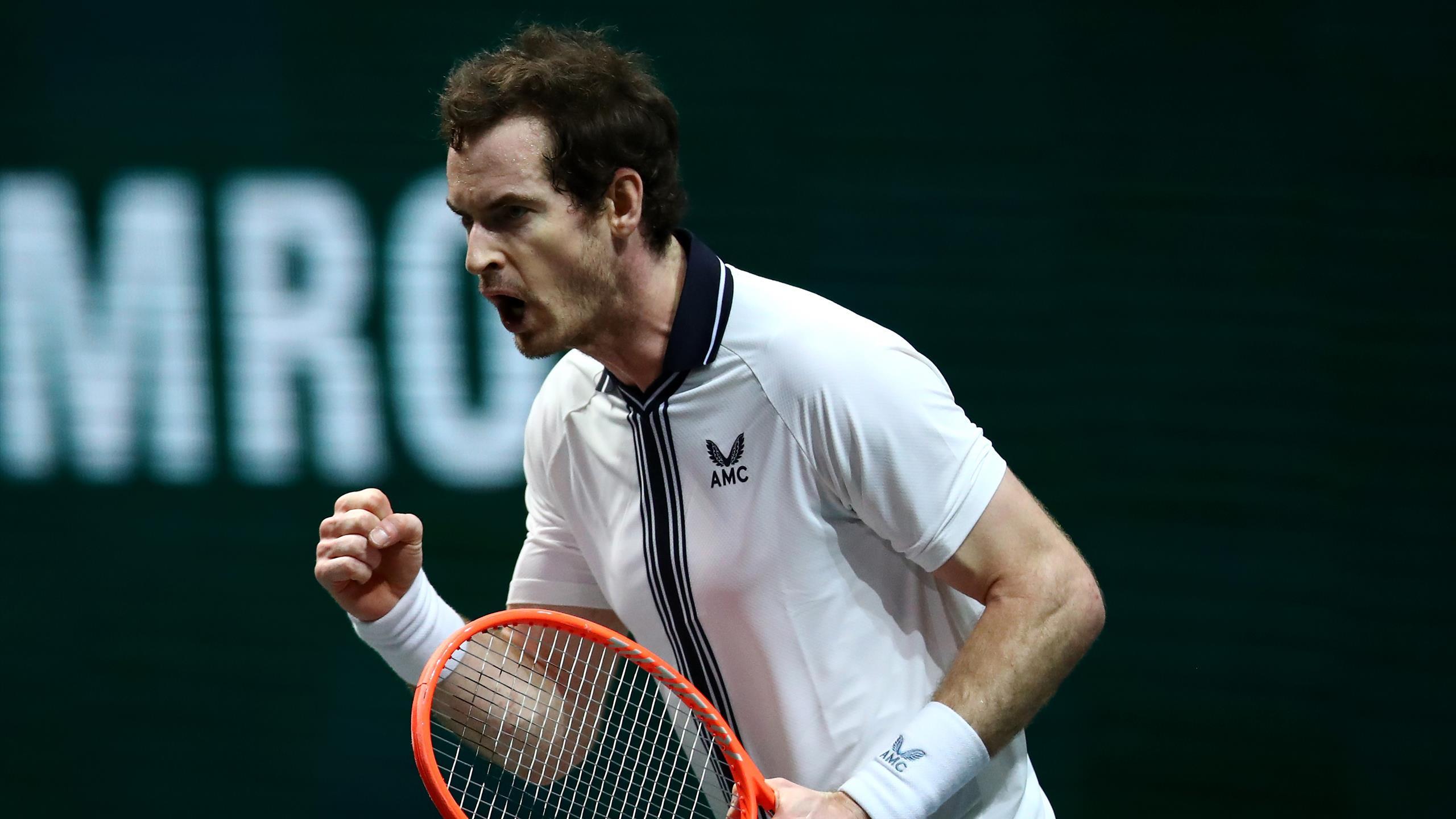 ATP ROTTERDAM : Andy Murray bat Robin Haase (2-6, 7-6 (7-2), 6-3) - Eurosport FR