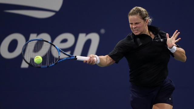 Erster Auftritt seit den US Open: Clijsters setzt Comeback fort