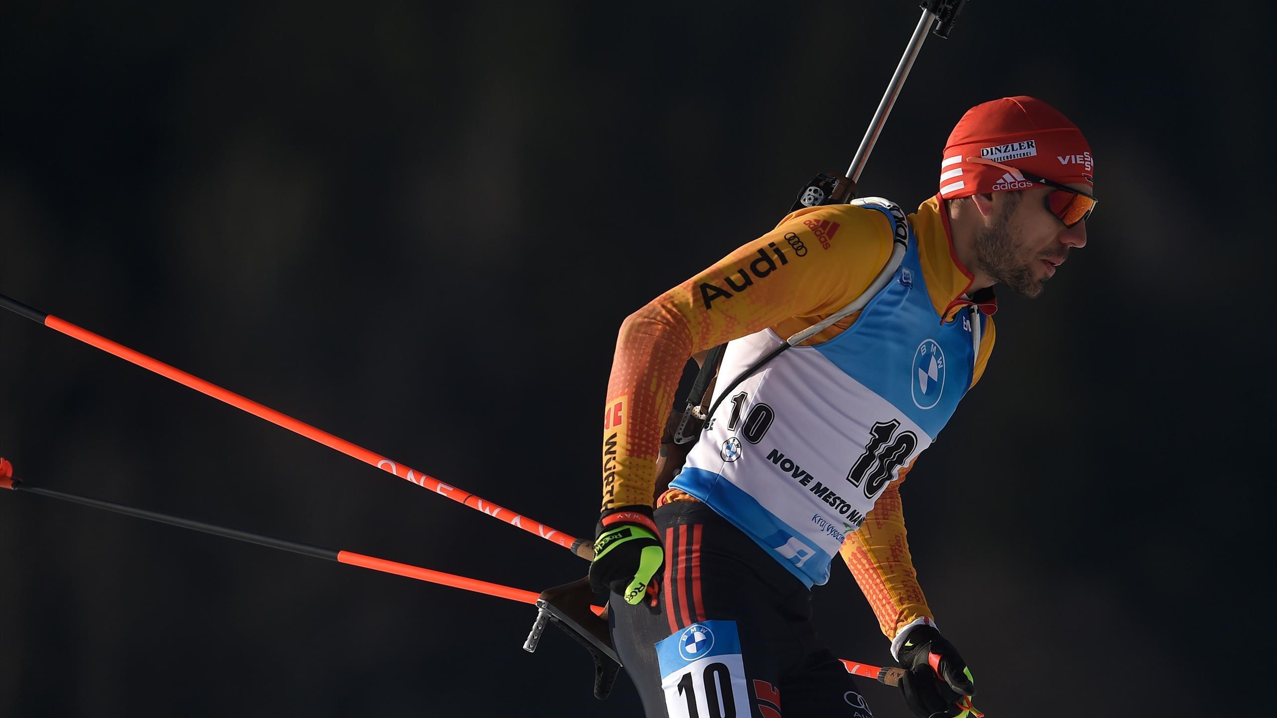 Nove Mesto: Arnd Peiffer glänzt bei erstem Weltcupsieg von Desthieux - Drama um Johannes Kühn - Eurosport DE