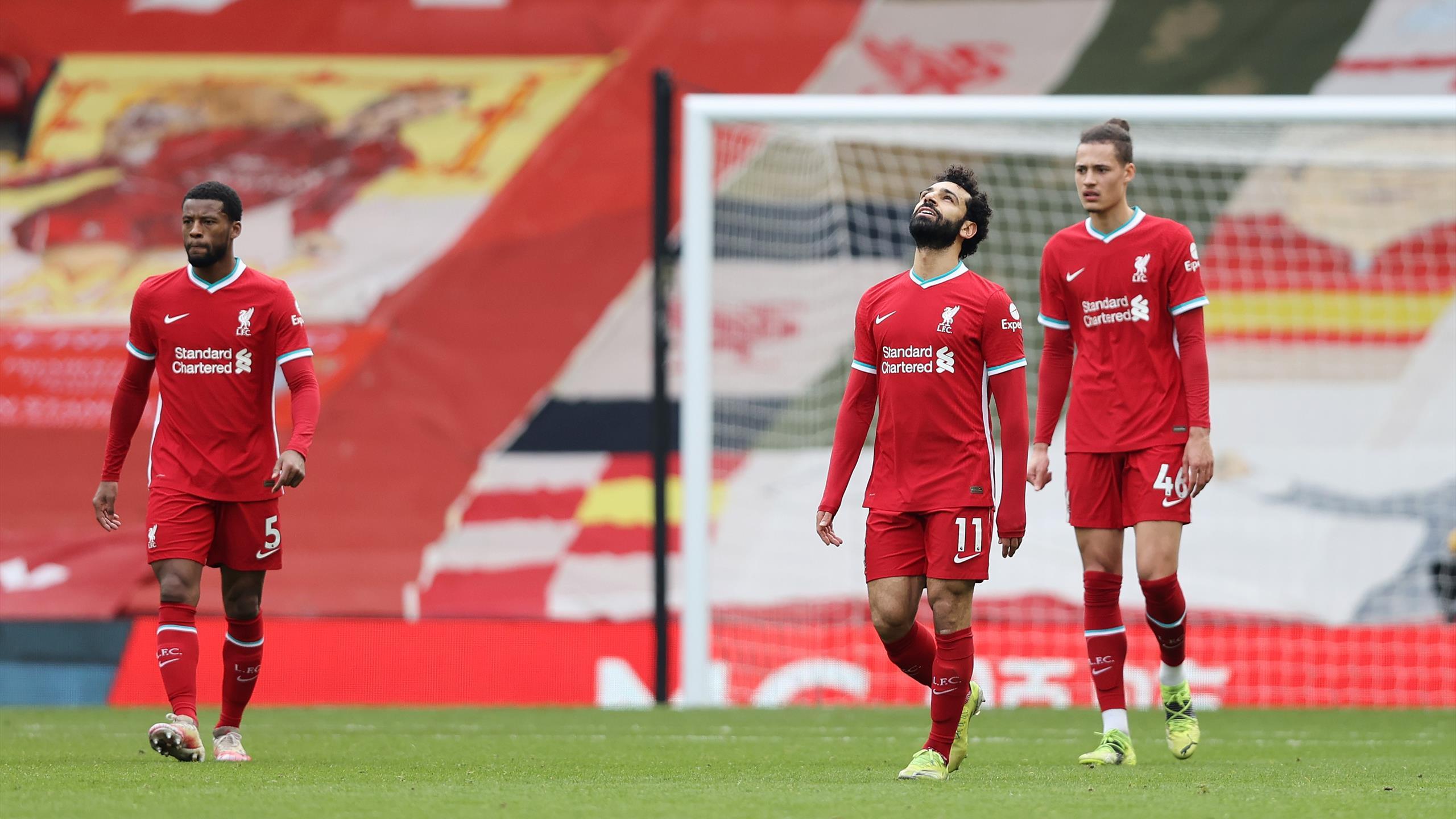 Premier League - Liverpool de mal en pis : Fulham s'impose à Anfield (0-1) - Eurosport FR