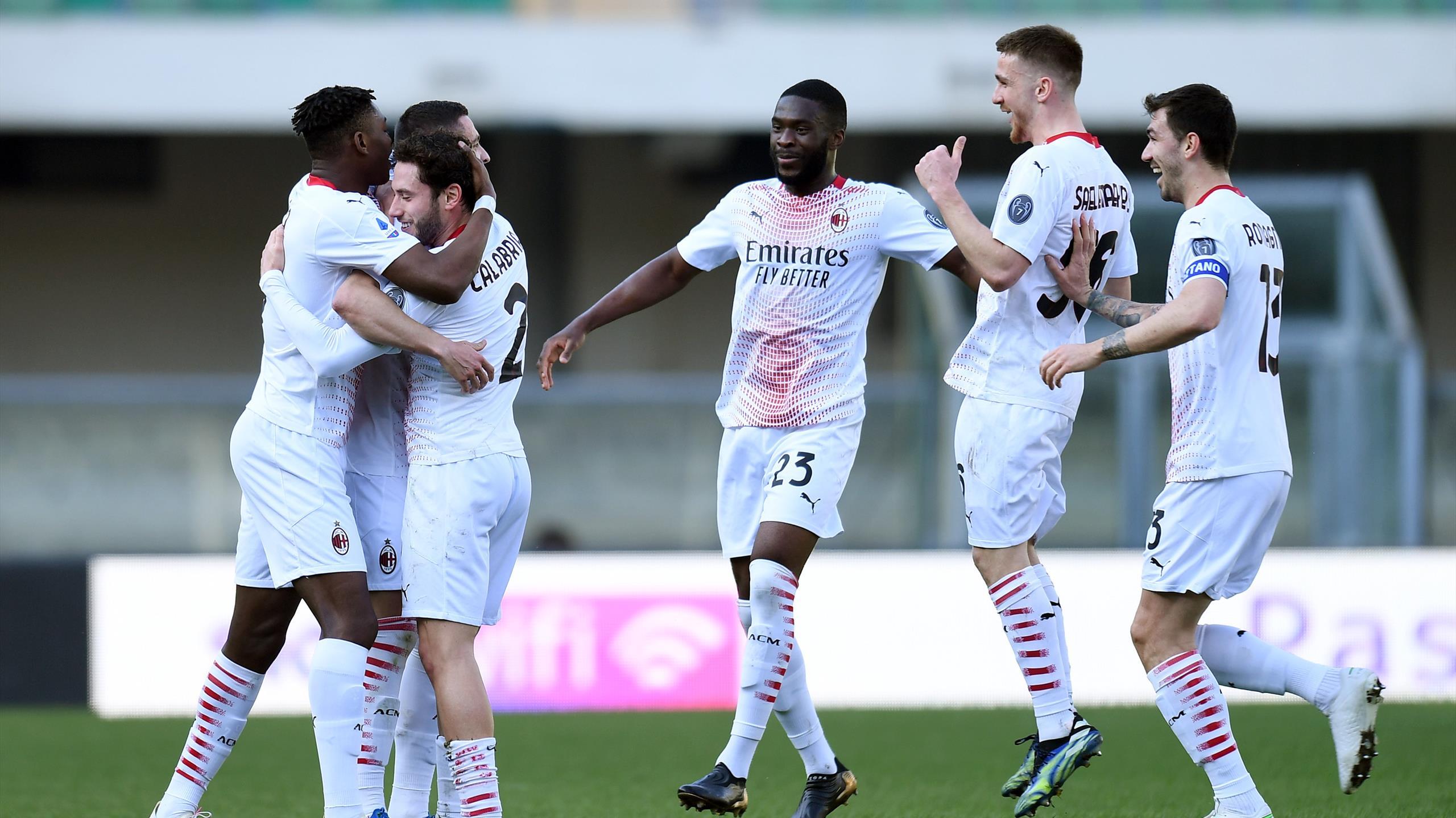 Serie A : Milan solide avant son choc face à Manchester United - Eurosport FR