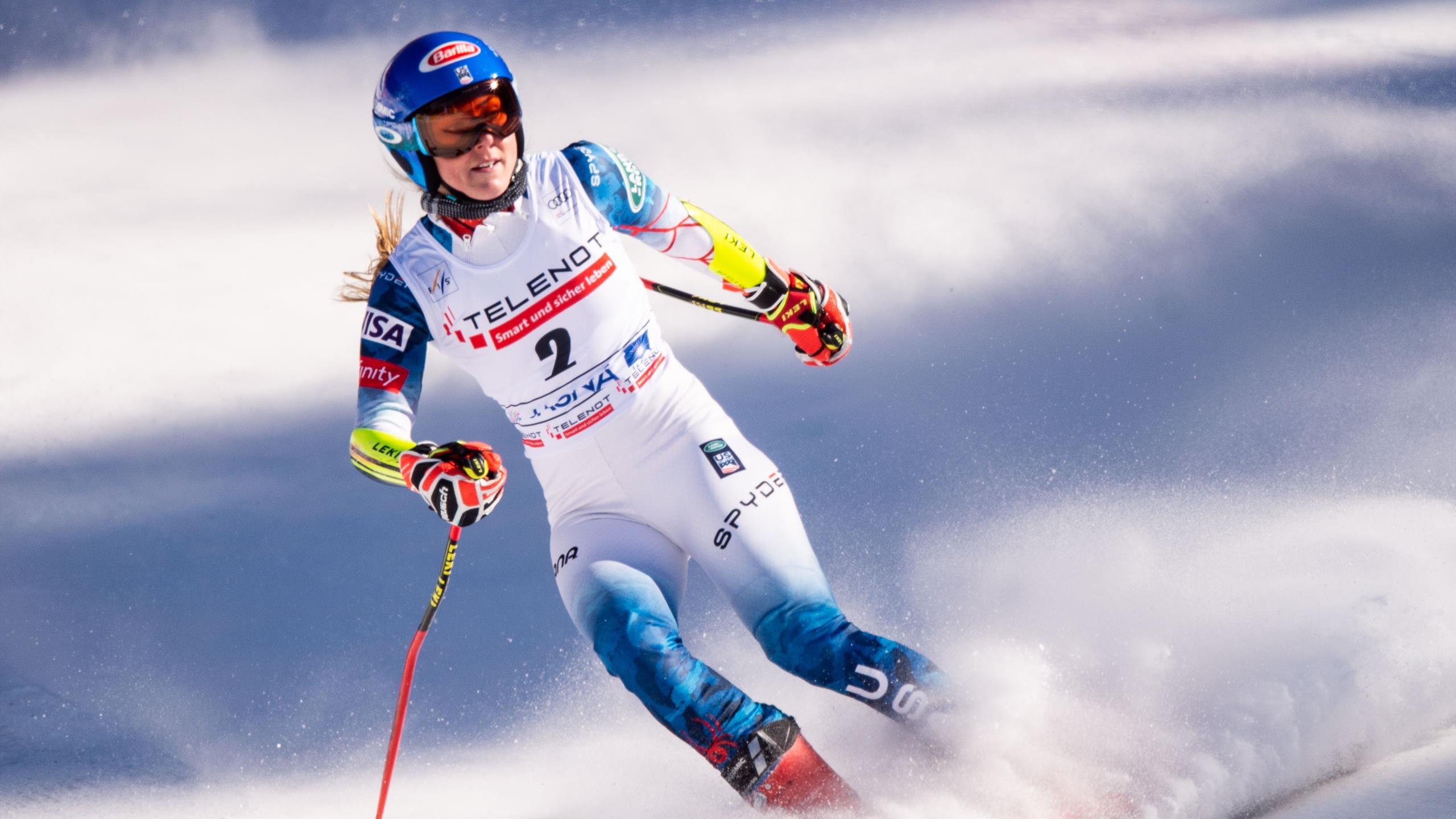 Mikaela Shiffrin tobt nach Sieg von Petra Vlhova im Riesenslalom von Jasna - Kritik an Organisatoren - Eurosport DE