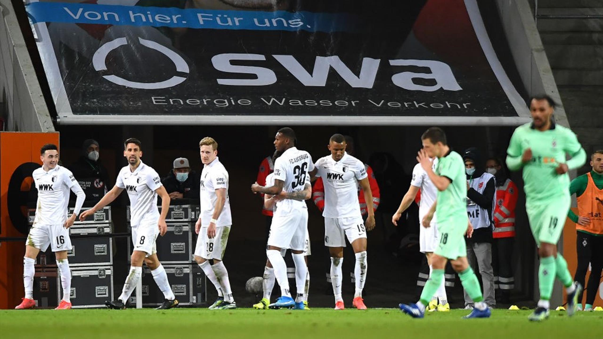 Borussia Monchengladbach crisis deepens with 3-1 loss at Augsburg as  European hopes suffer blow - Eurosport