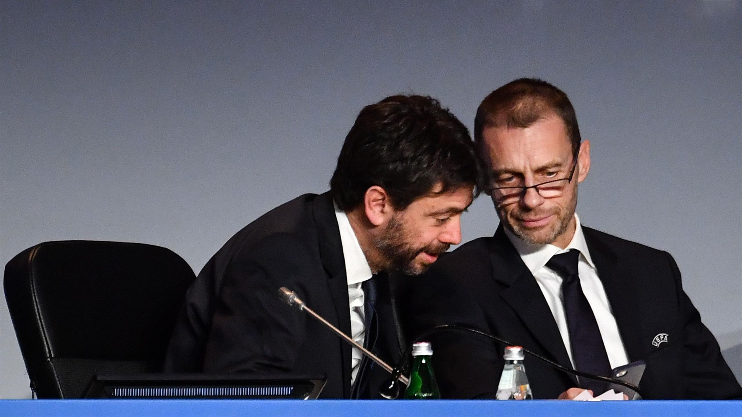 Президент «Ювентуса» Андреа Аньелли предал семью и президента УЕФА Александера Чеферин