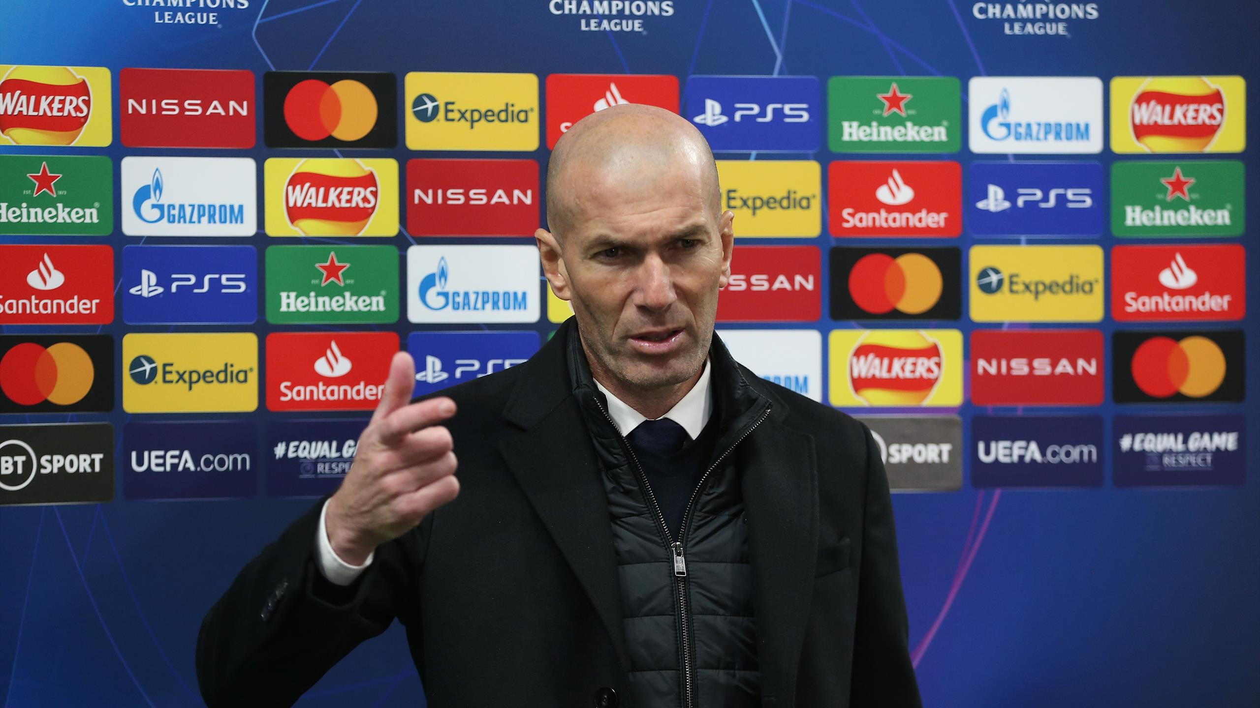 Зидан прокомментировал поражение «Реала» в полуфинале ЛЧ