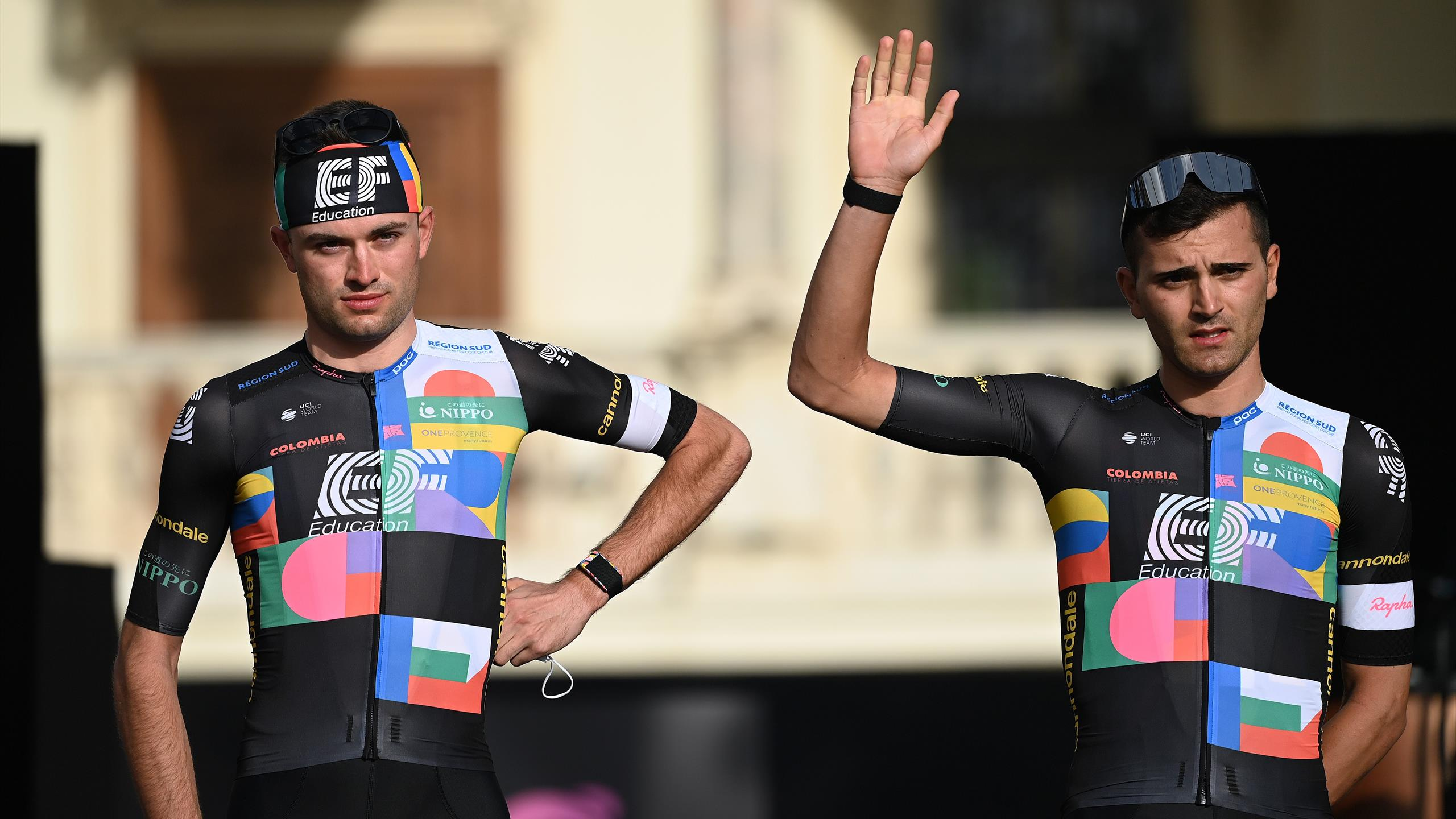 Giro d'Italia 20 EF Education Nippo in neuem Look   Hugh Carty ...
