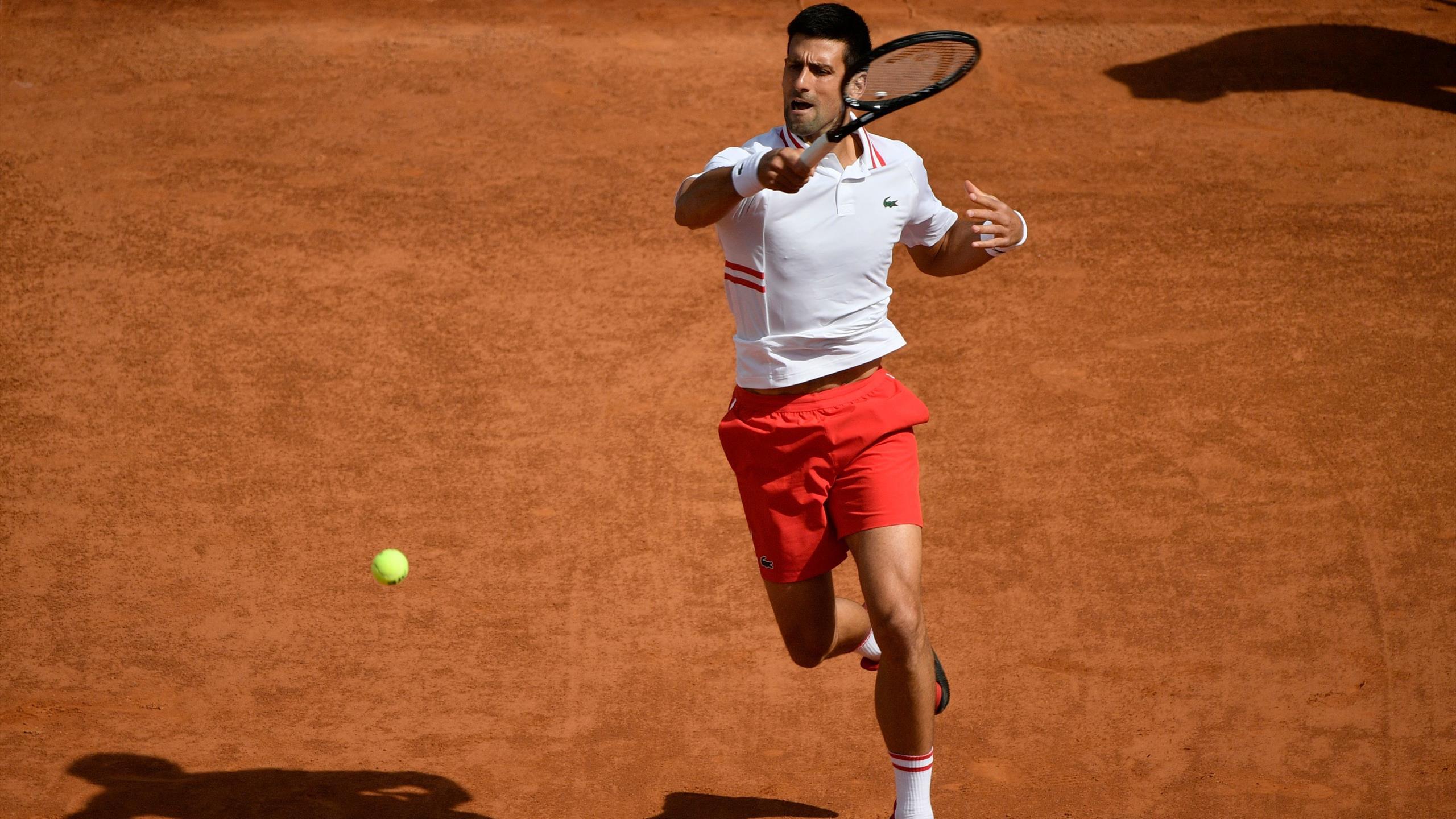 Masters 1000 Rome – Novak Djokovic vainqueur facile de Alejandro Davidovich Fokina