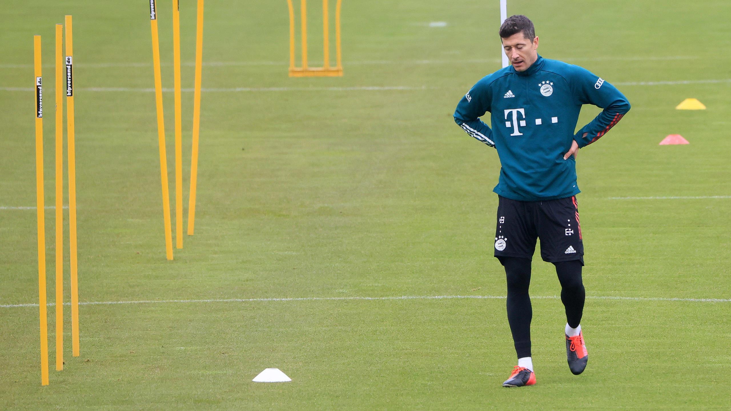 Lewandowski quitte précipitamment l'entraînement du Bayern Munich