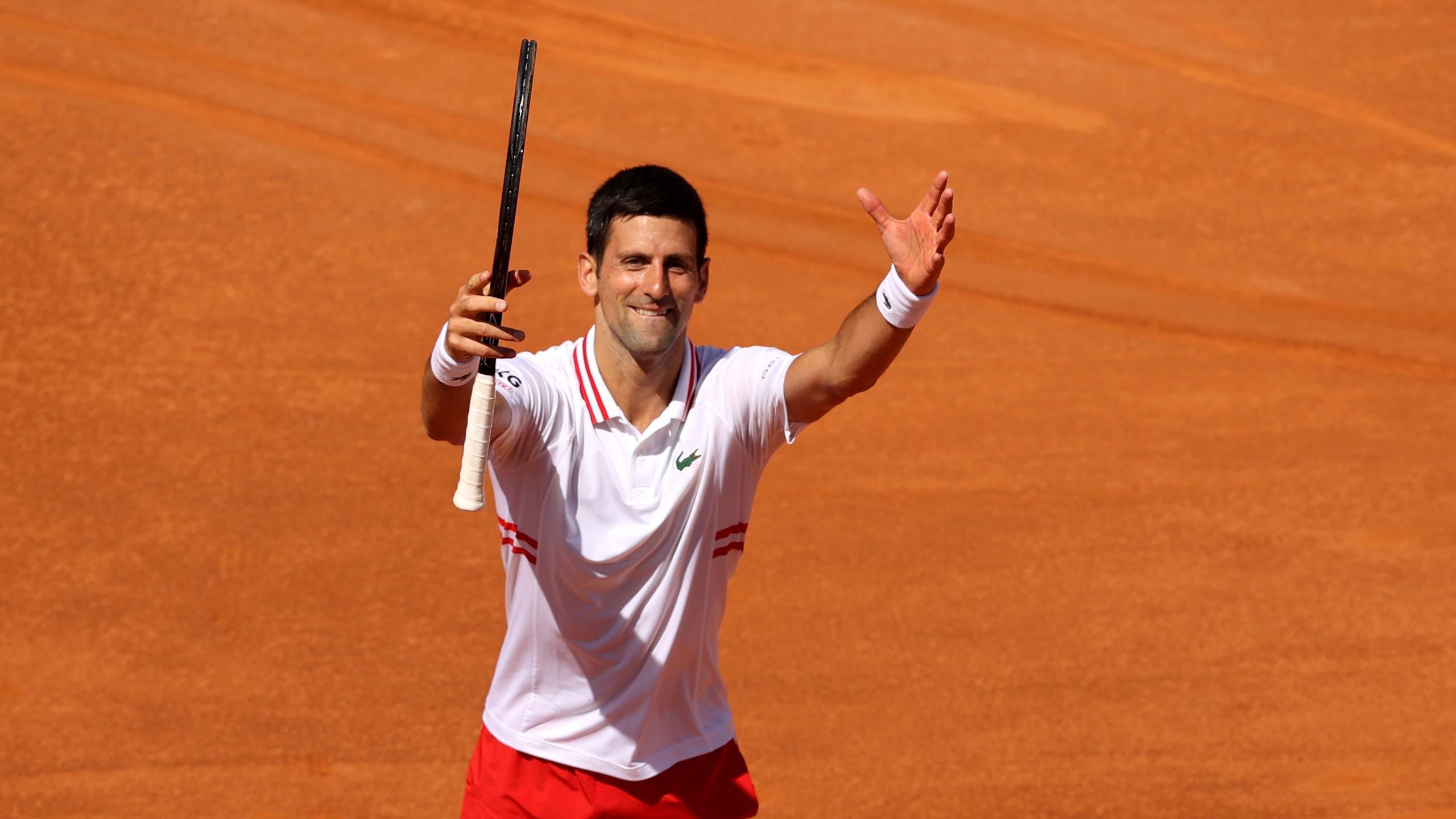 Un break concédé et la machine Djokovic s'est enclenchée : le résumé de sa balade