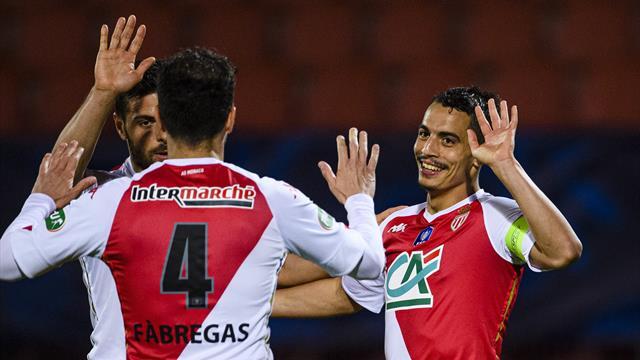 La justesse de Ben Yedder, la vista de Fabregas : les 10 buts de Monaco jusqu'en finale