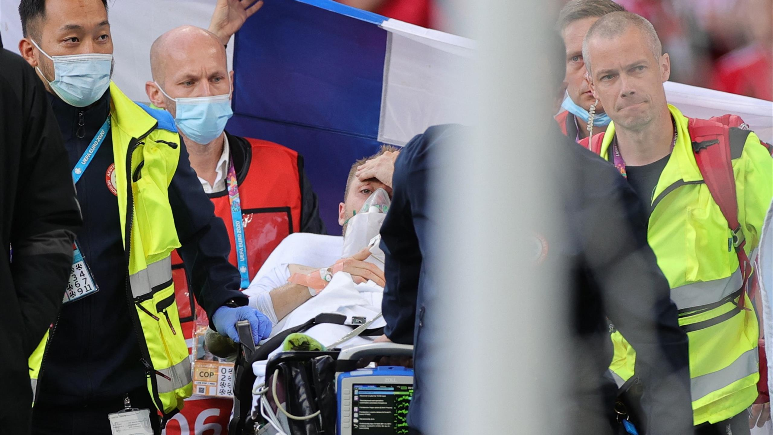 Christian Eriksen: Danish midfielder stable, transferred to hospital after collapsing on pitch at Euro 2020
