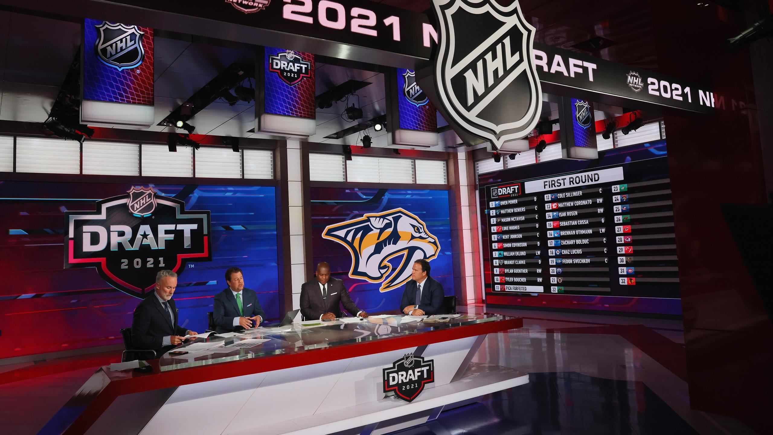 1-й раунд драфта НХЛ: единственного русского забрал «Нэшвилл»