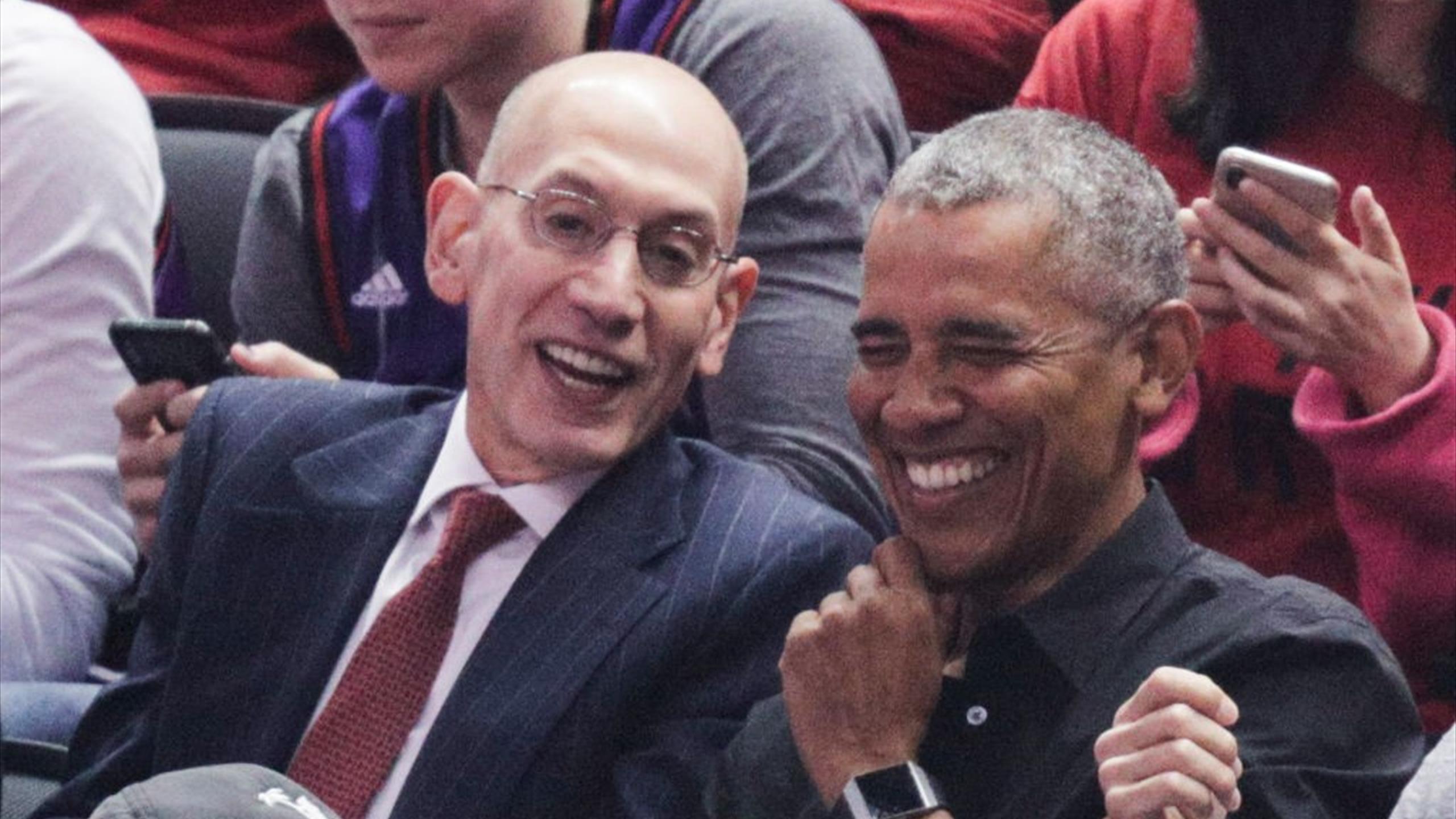 Obama devient partenaire de NBA Africa