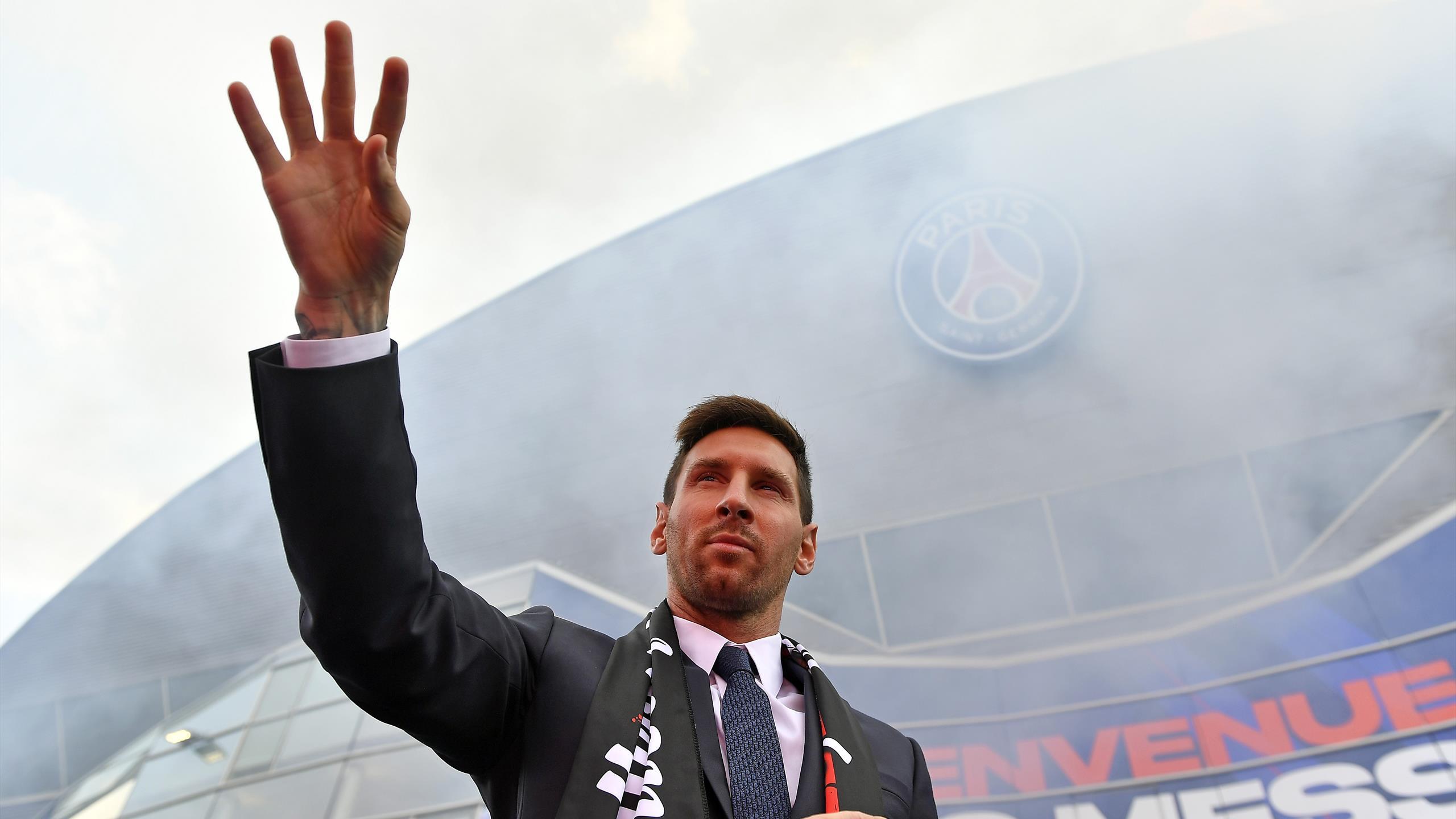 253 accréditations acceptées : La première de Messi au Parc des Princes en mondovision