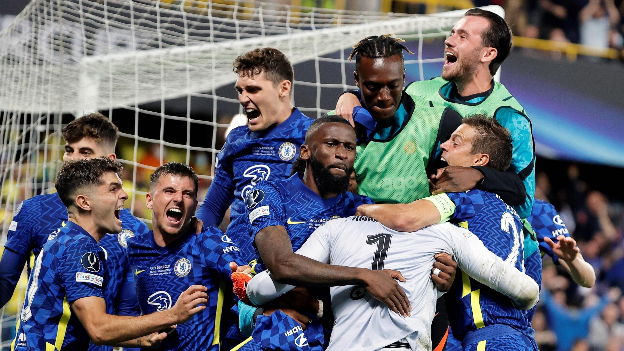 European Super Cup, Chelsea-Villarreal (1-1, 6-5 bounce) – Tuchel made a Van Gaal: Mendy and Kepa, heroes in their own way