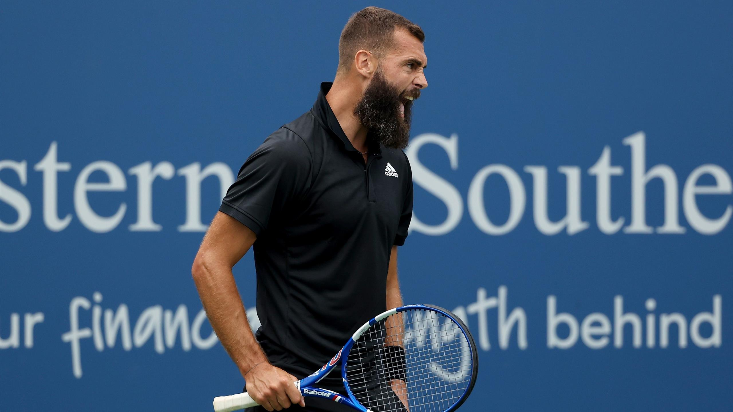 ATP Cincinnati: Isner's downfall Paire to play first Masters 1000 quarterfinals in 8 years