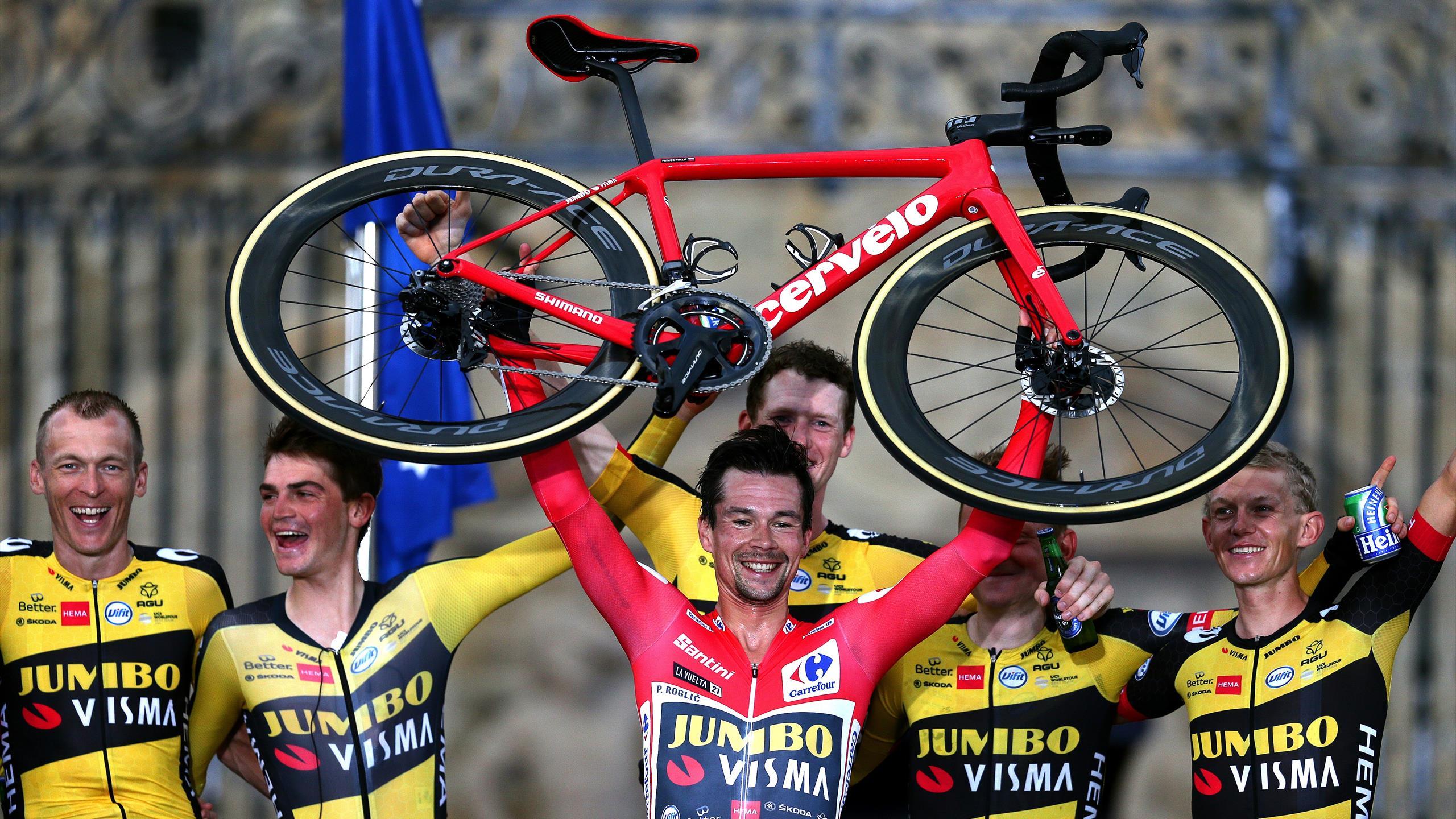 Cinq podiums en trois ans, 8/9, 50 : Roglic et les grands tours, une histoire d'amour thumbnail