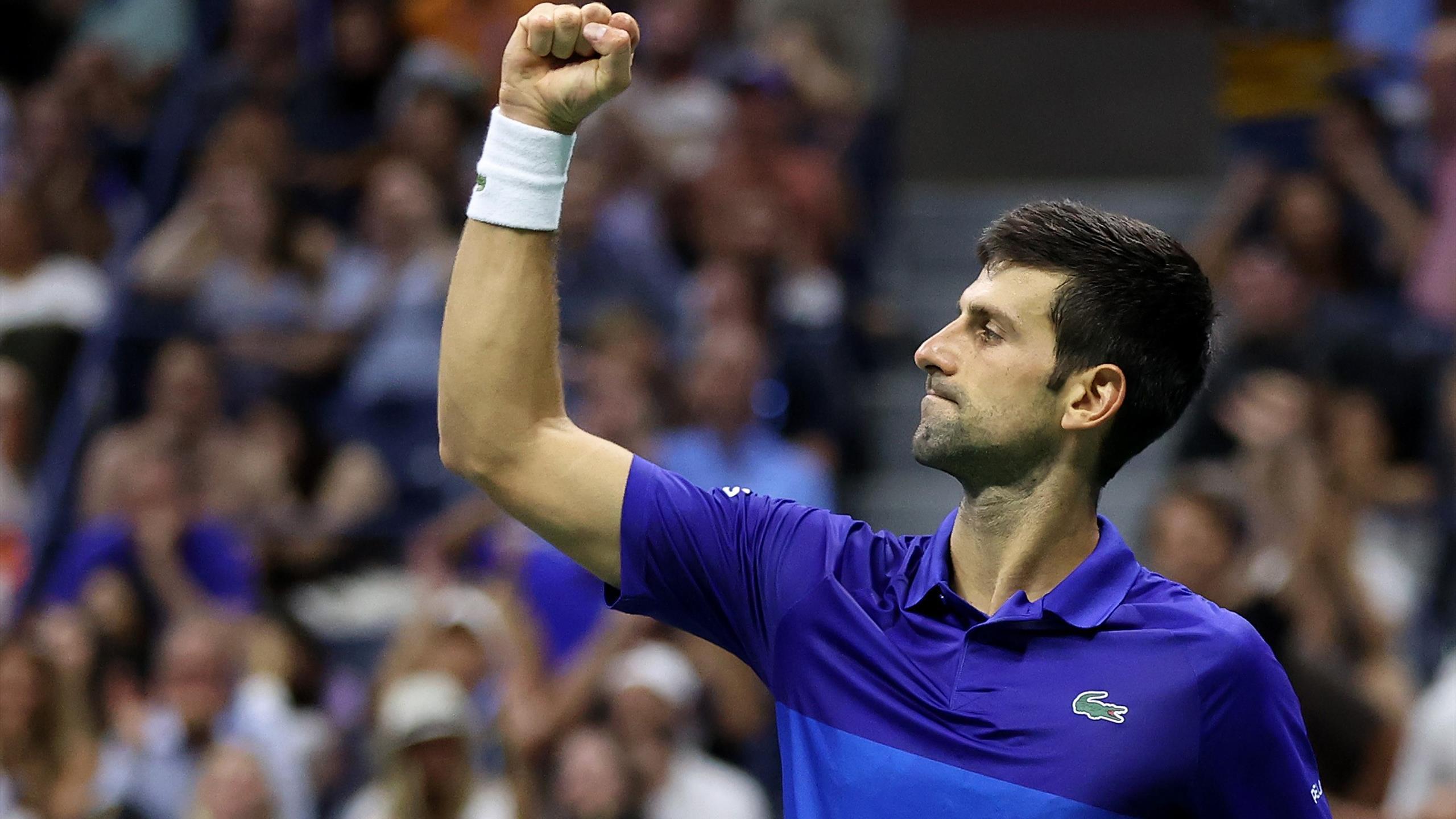 Djokovic a haussé le ton et entretient son rêve