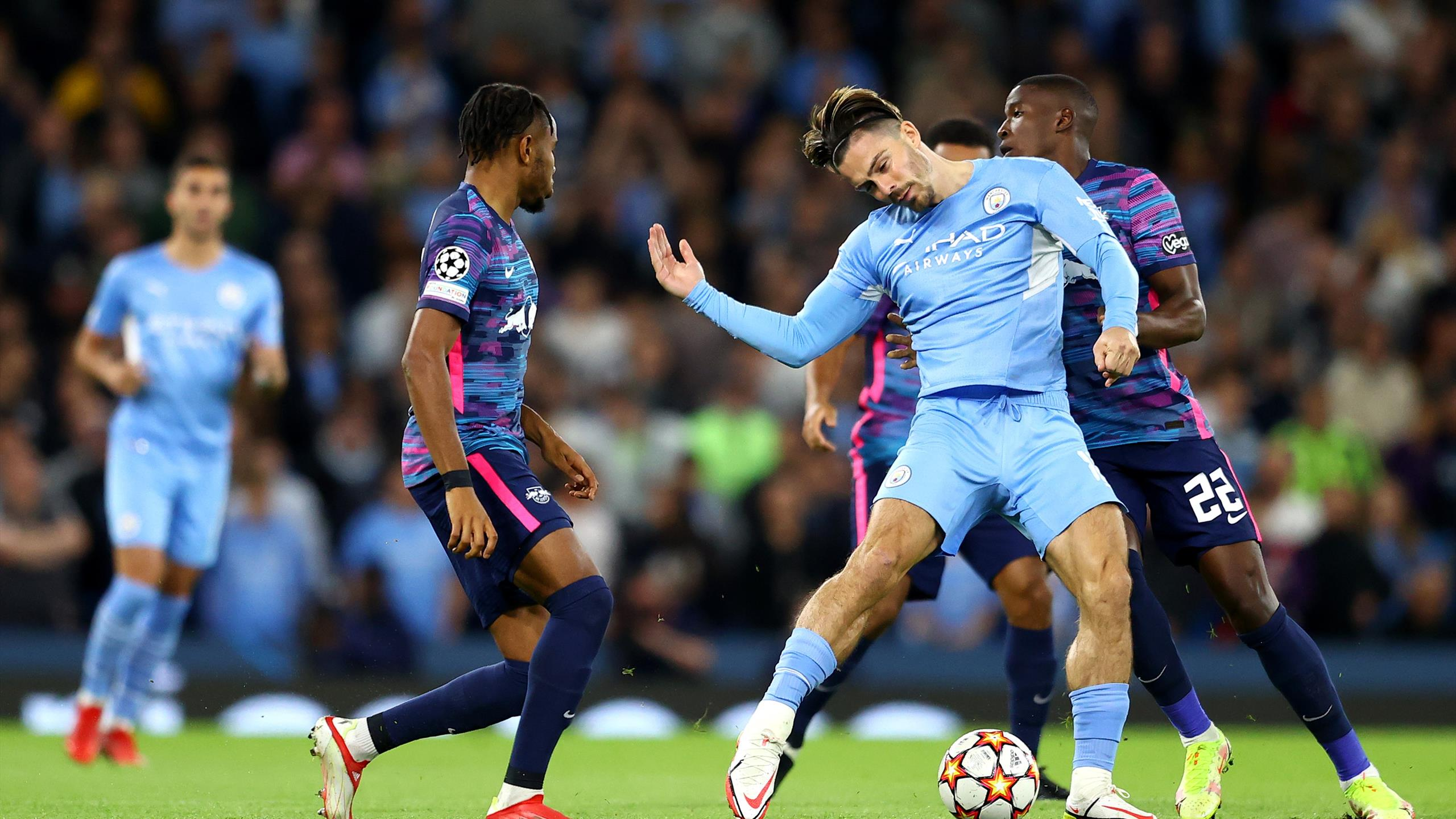 Le triplé de Nkunku n'y a rien changé : Manchester City s'est offert Leipzig