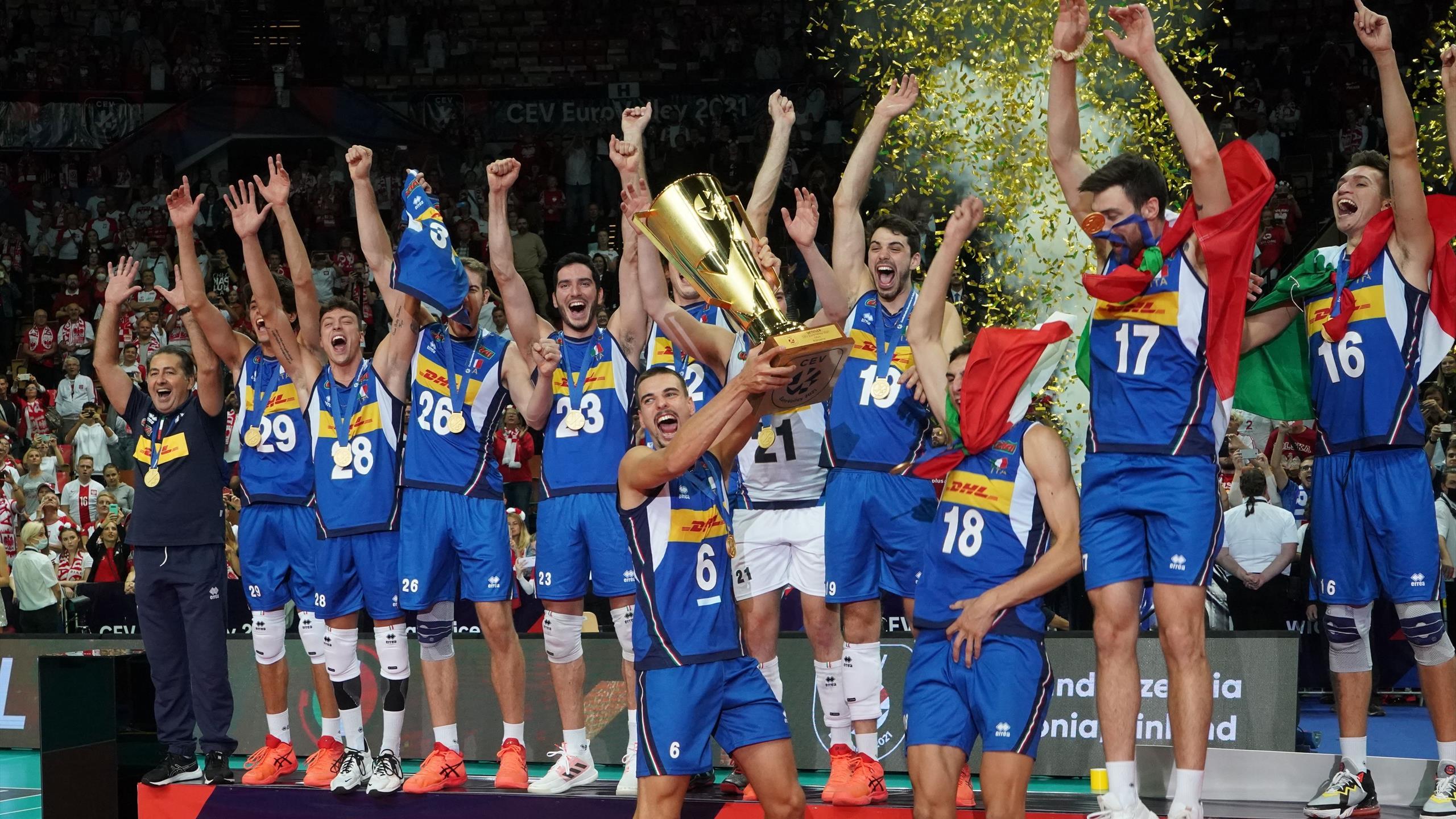 L'Italie sacrée championne d'Europe, son premier titre depuis 2005 thumbnail