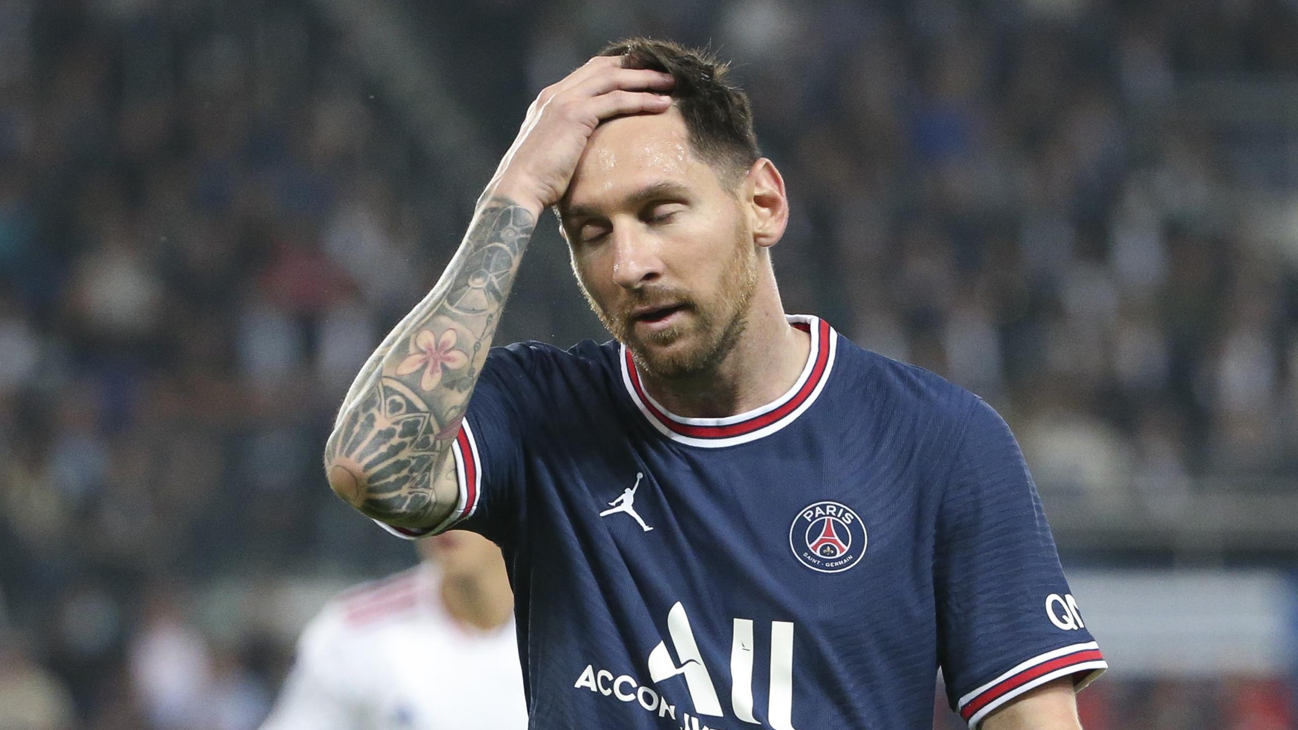 Paris toujours sans Messi