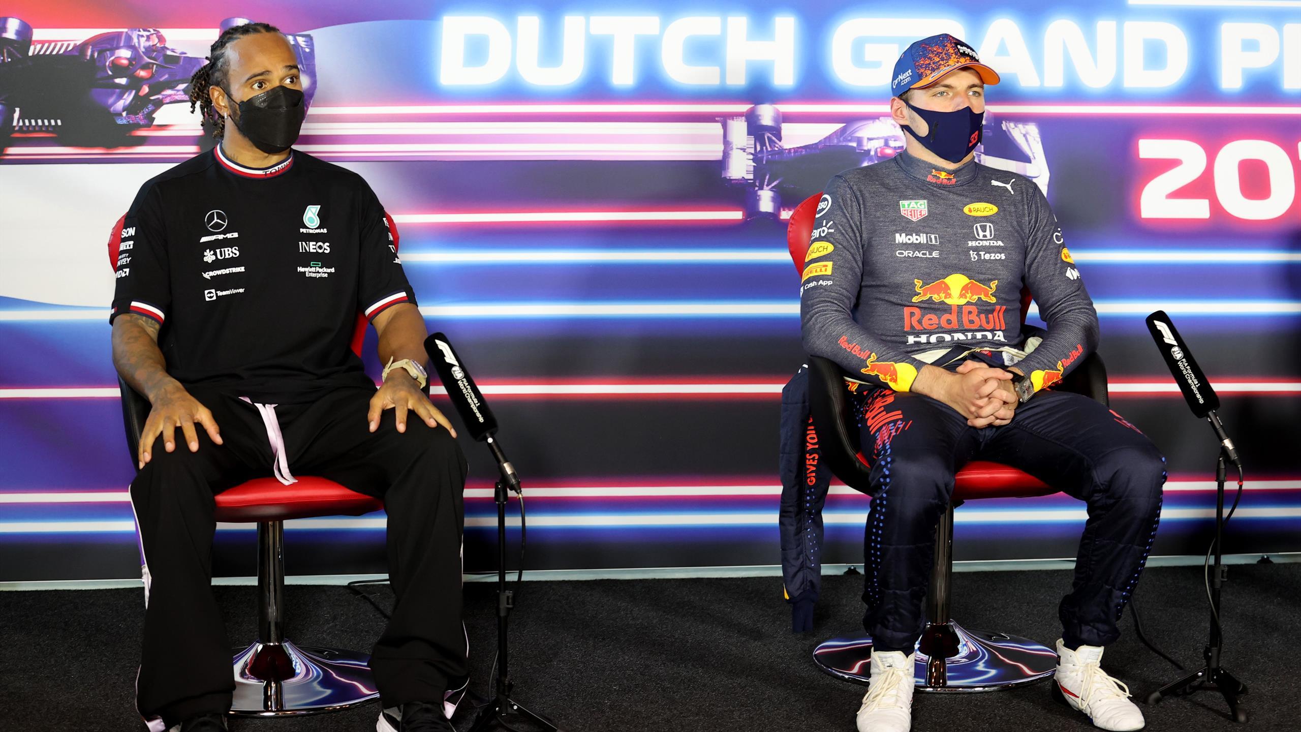 Heves szócsata alakult ki Hamilton és Verstappen között ...