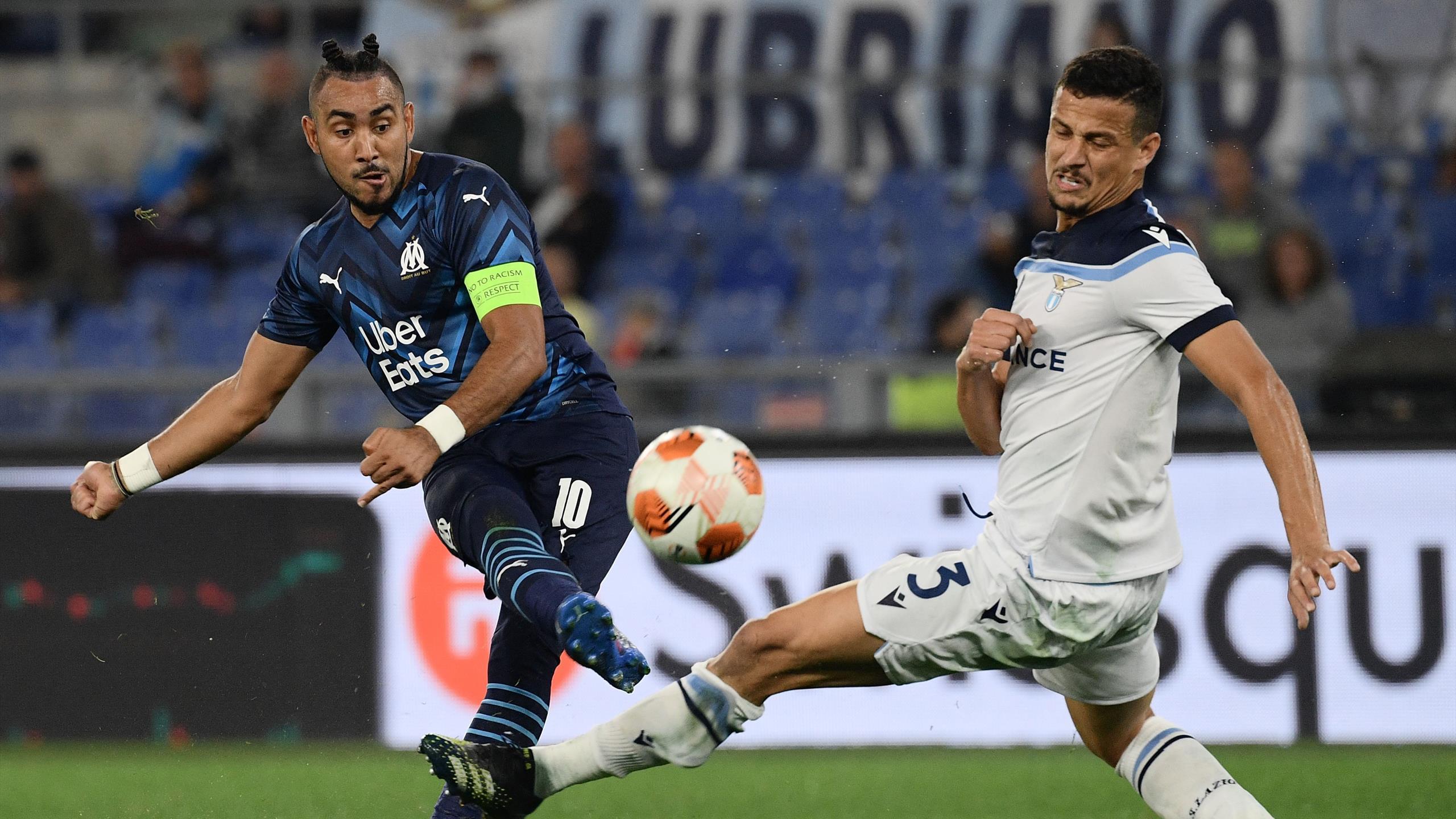 Ligue Europa - Lazio Rome - Olympique de Marseille : L'OM enchaîne un troisième match nul (0-0)