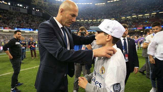 Première sélection et premier but pour Elyaz Zidane avec les U17 français