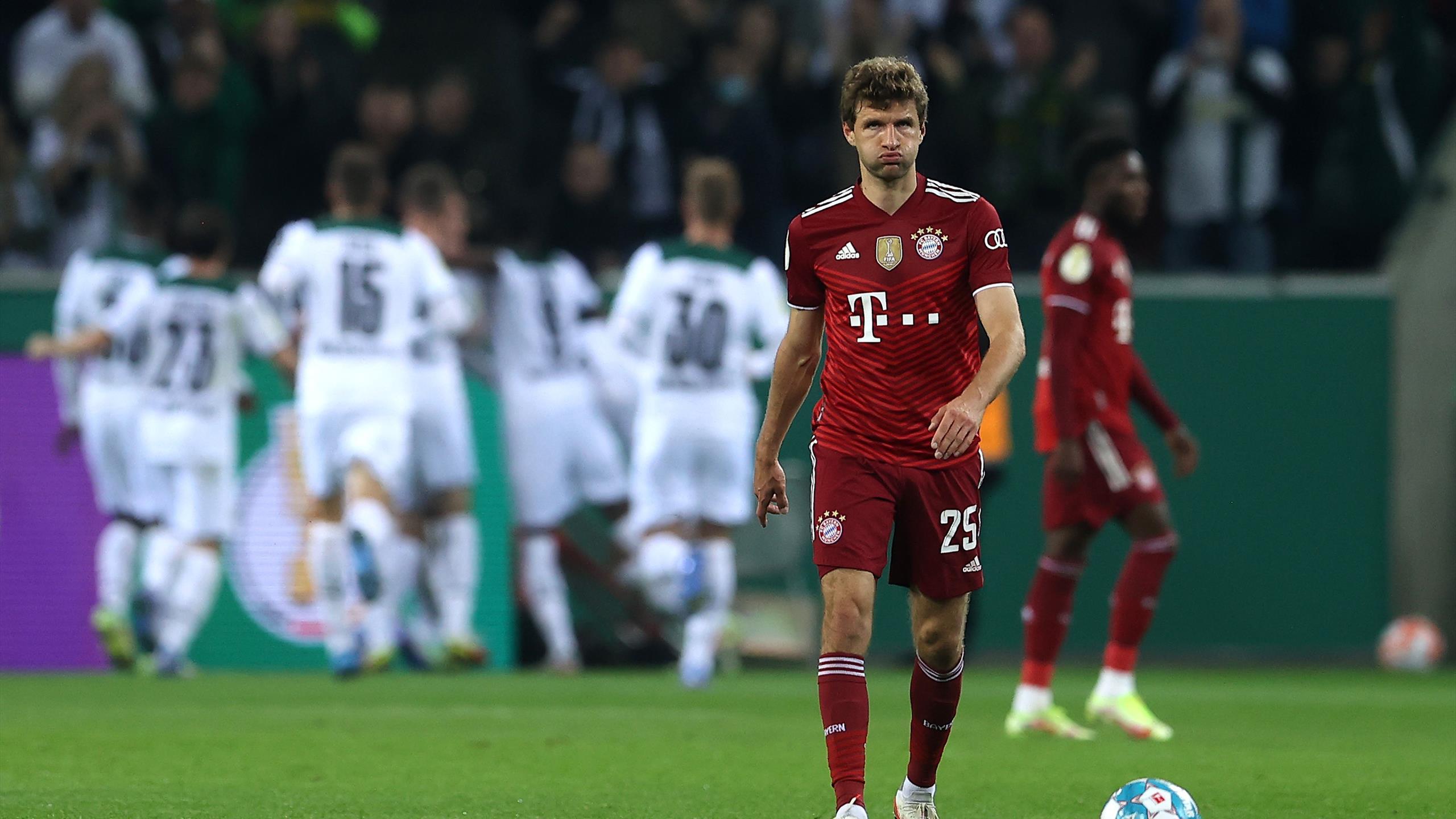 Coupe d'Allemagne : Le Bayern Munich étrillé 5-0 par Mönchengladbach, une première depuis plus de 40 ans