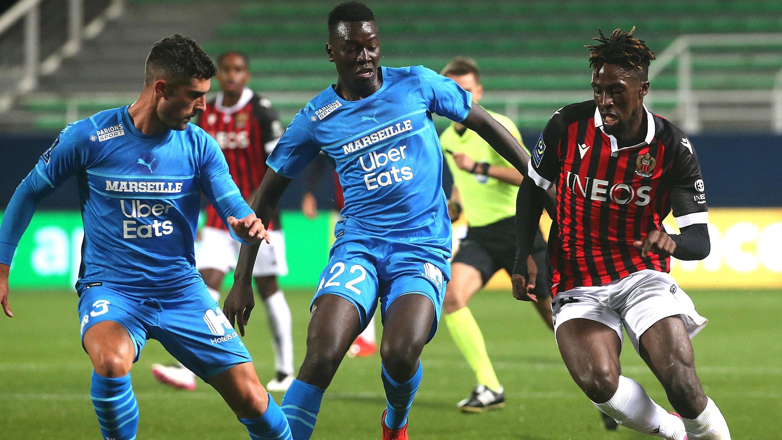 <b>Ligue 1</b> : Nice et Marseille dos à dos dans leur match en retard de la 3e journée (1-1) - Eurosport