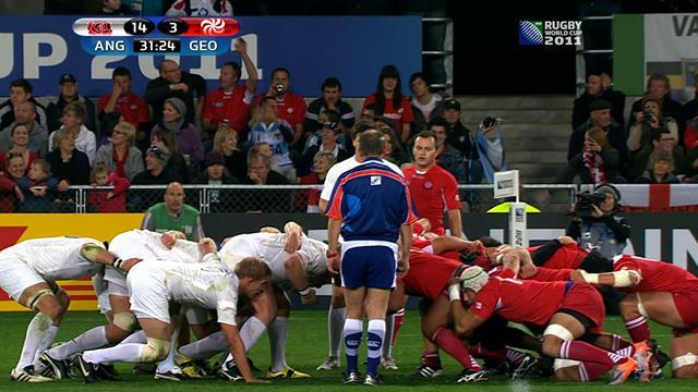 Les plus belles actions d'Angleterre - Géorgie du 18/09/2011