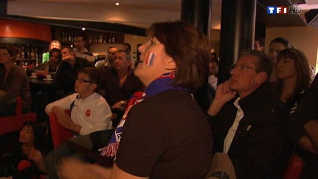 La victoire vue de Toulouse (15/10/2011 sur TF1)