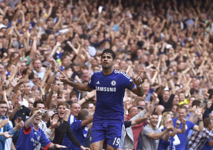 Chelsea's Diego Costa has started the season in terrific form