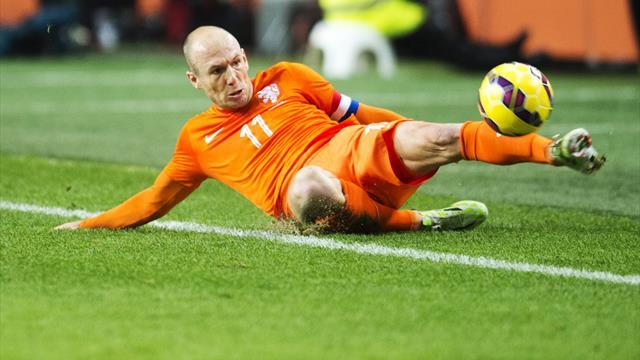 Guus Hiddink laments Arjen Robben loss ahead of Latvia match