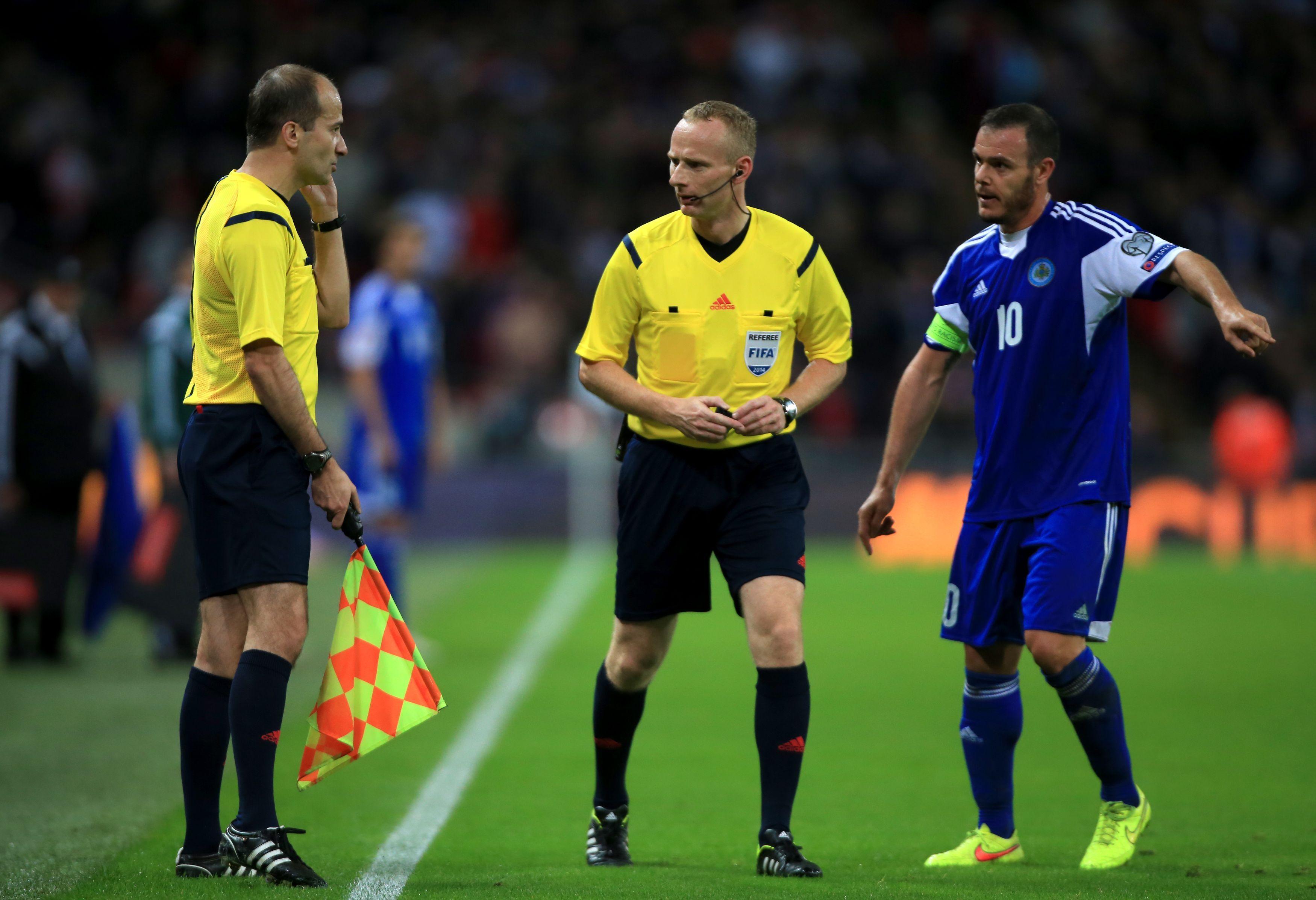 Andy Selva, capitano della Nazionale di San Marino (LaPresse)