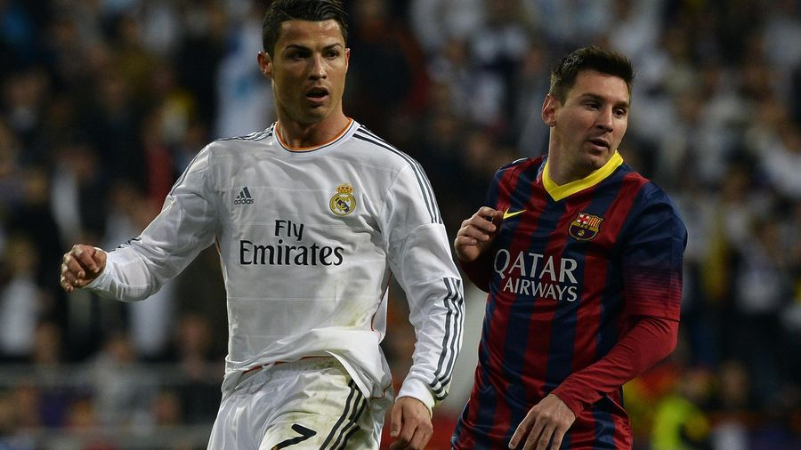 Messi ROnaldo 2