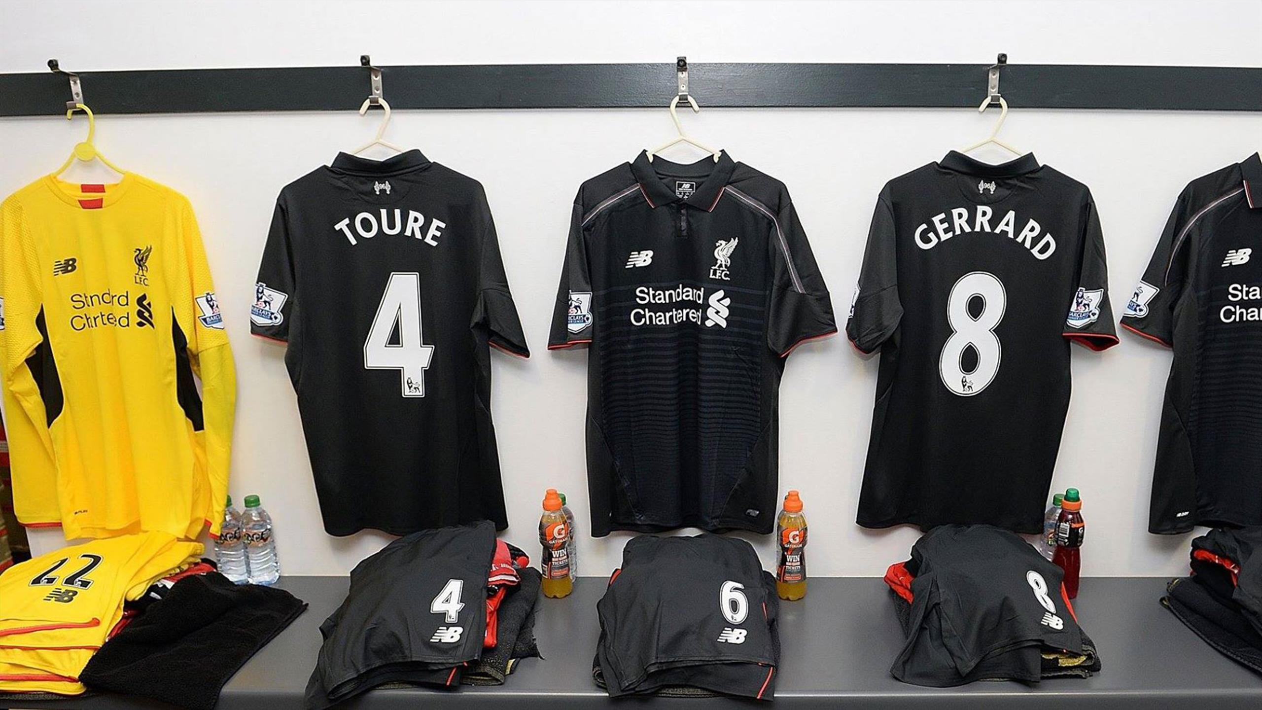 Maillot THIRD Liverpool Tenue de match