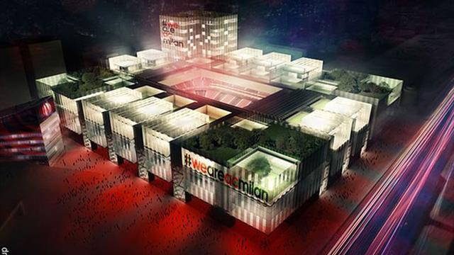 L'AC Milan présente son futur stade