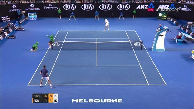 Djokovic ramène tout et finit par faire le point