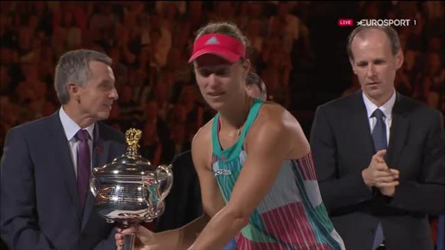 """Kerber : """"Je suis une championne de Grand Chelem, ça parait fou !"""""""