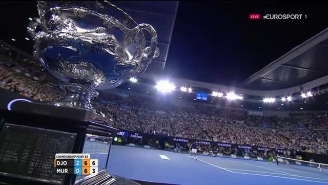 Djokovic : la balle de son 6e sacre à Melbourne en vidéo